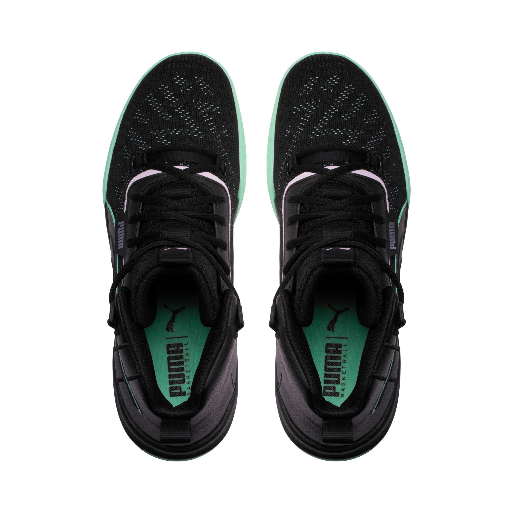 Anteprima 6 di Legacy Dark Mode Basketball Shoes, Puma Black-Orchid Bloom, medio