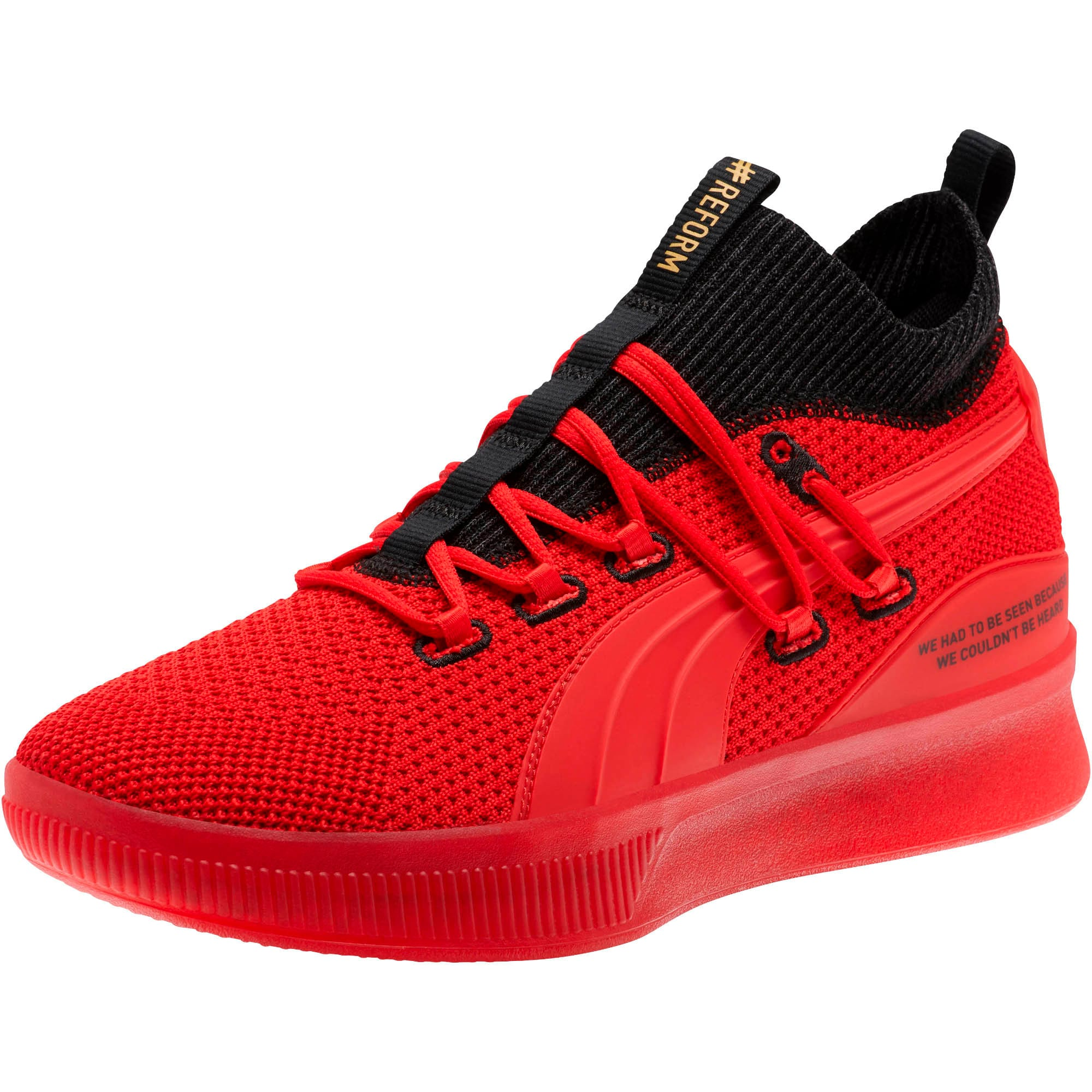Thumbnail 1 of Clyde Court #REFORM Basketball Shoes, High Risk Red, medium