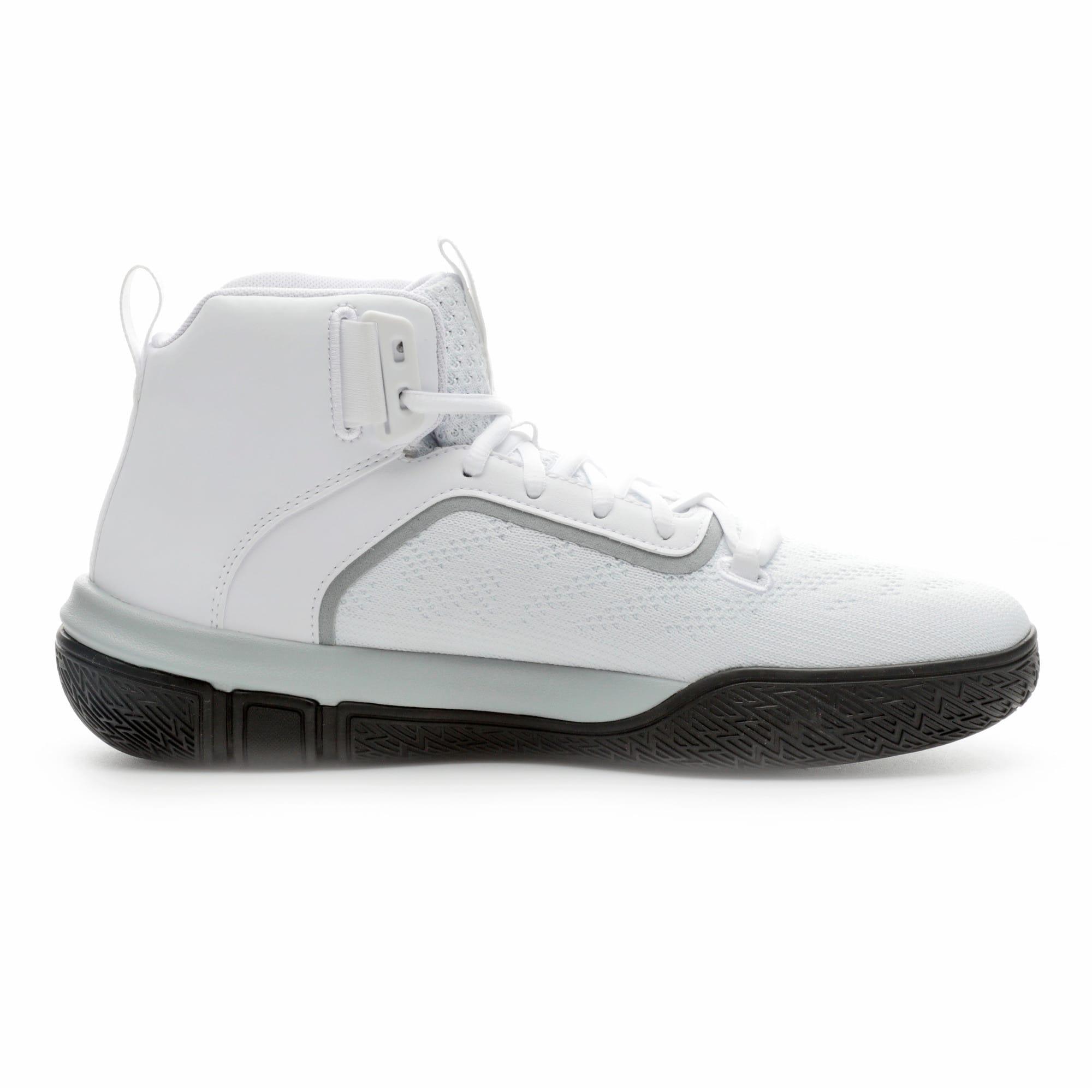 Thumbnail 5 of Legacy '68 Basketball Shoes, Puma Black-Puma White, medium