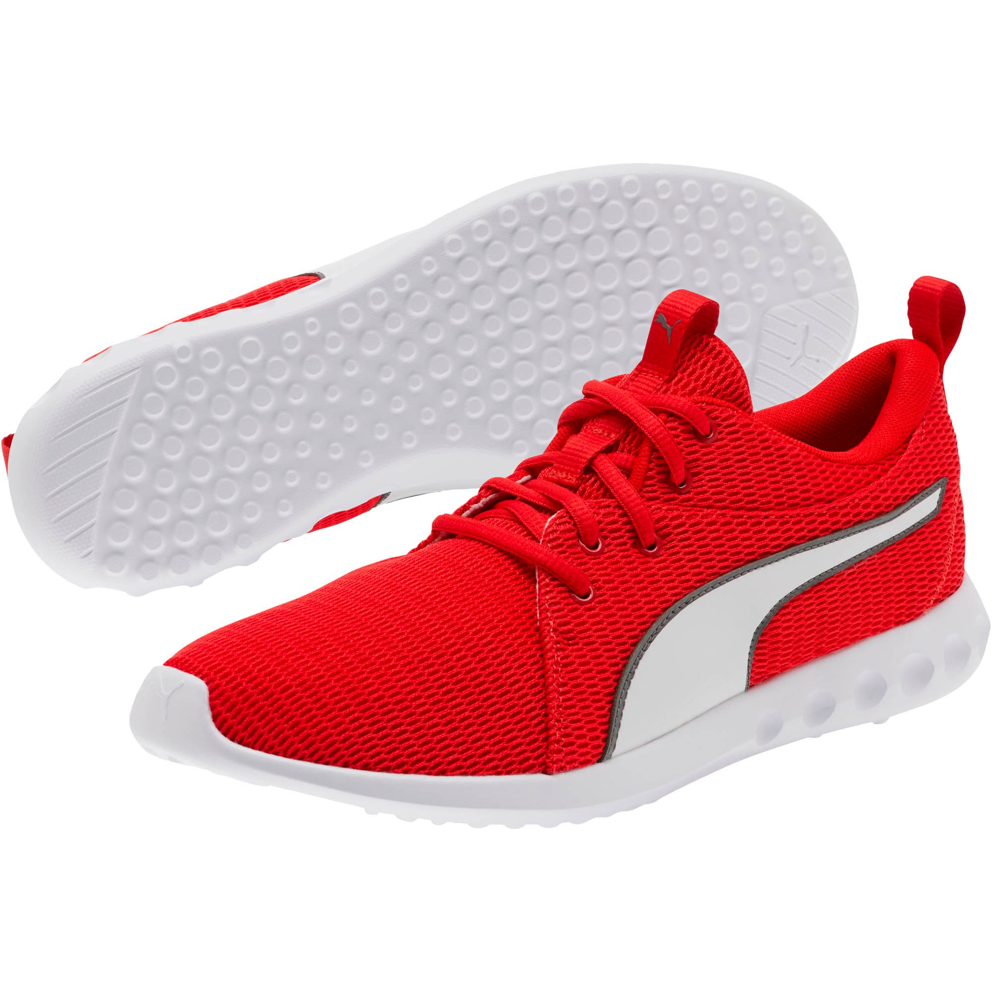 Thumbnail 2 of Carson 2 New Core FS Sneakers, High Risk Red-Charcoal Gray, medium