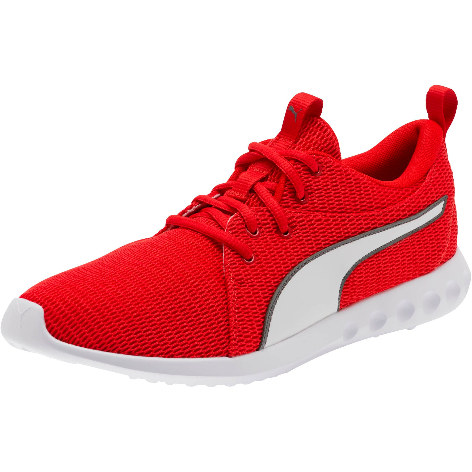 Thumbnail 1 of Carson 2 New Core FS Sneakers, High Risk Red-Charcoal Gray, medium