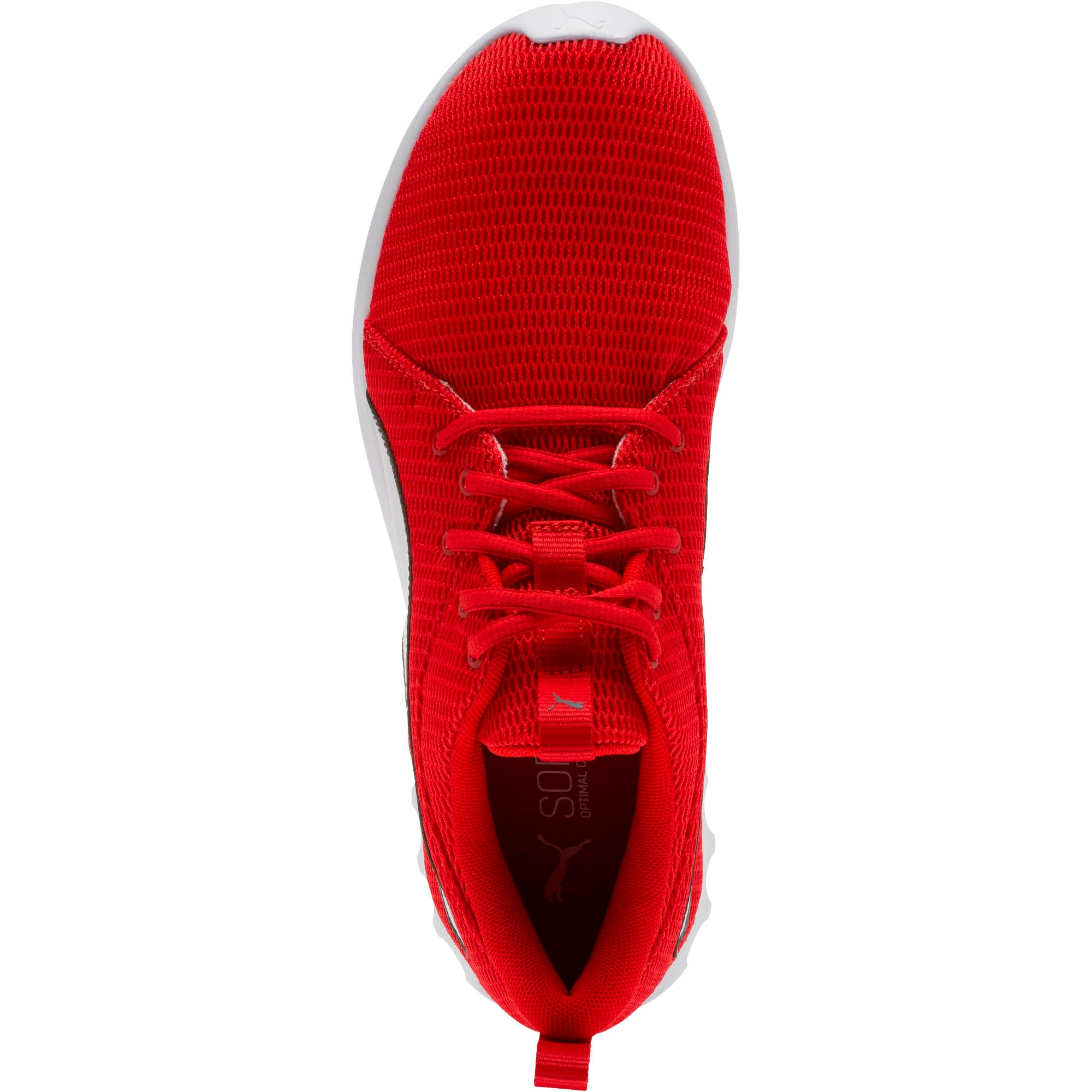 Thumbnail 5 of Carson 2 New Core FS Sneakers, High Risk Red-Charcoal Gray, medium