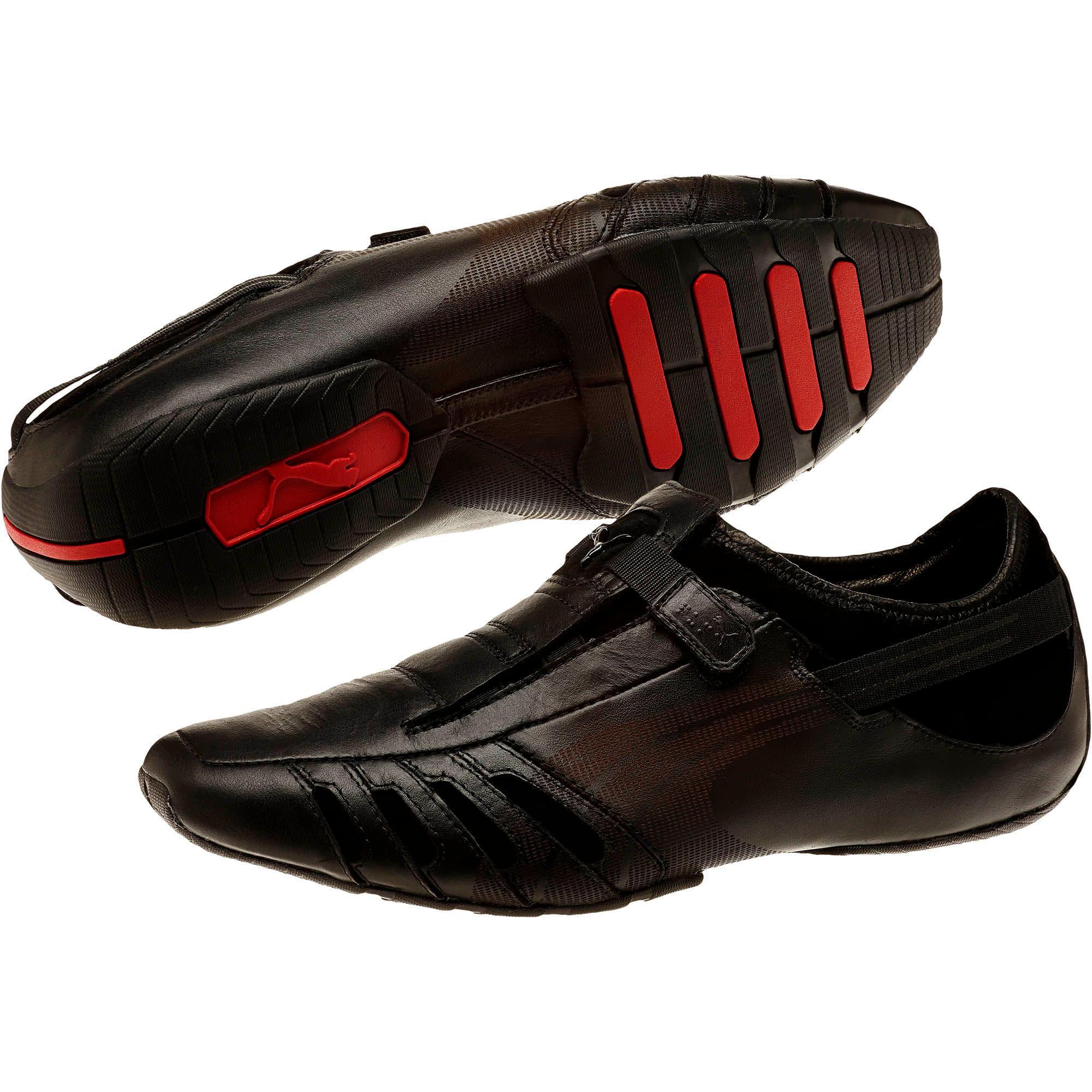 Thumbnail 2 of Vedano Men's Shoes, black-black-ribbon red, medium