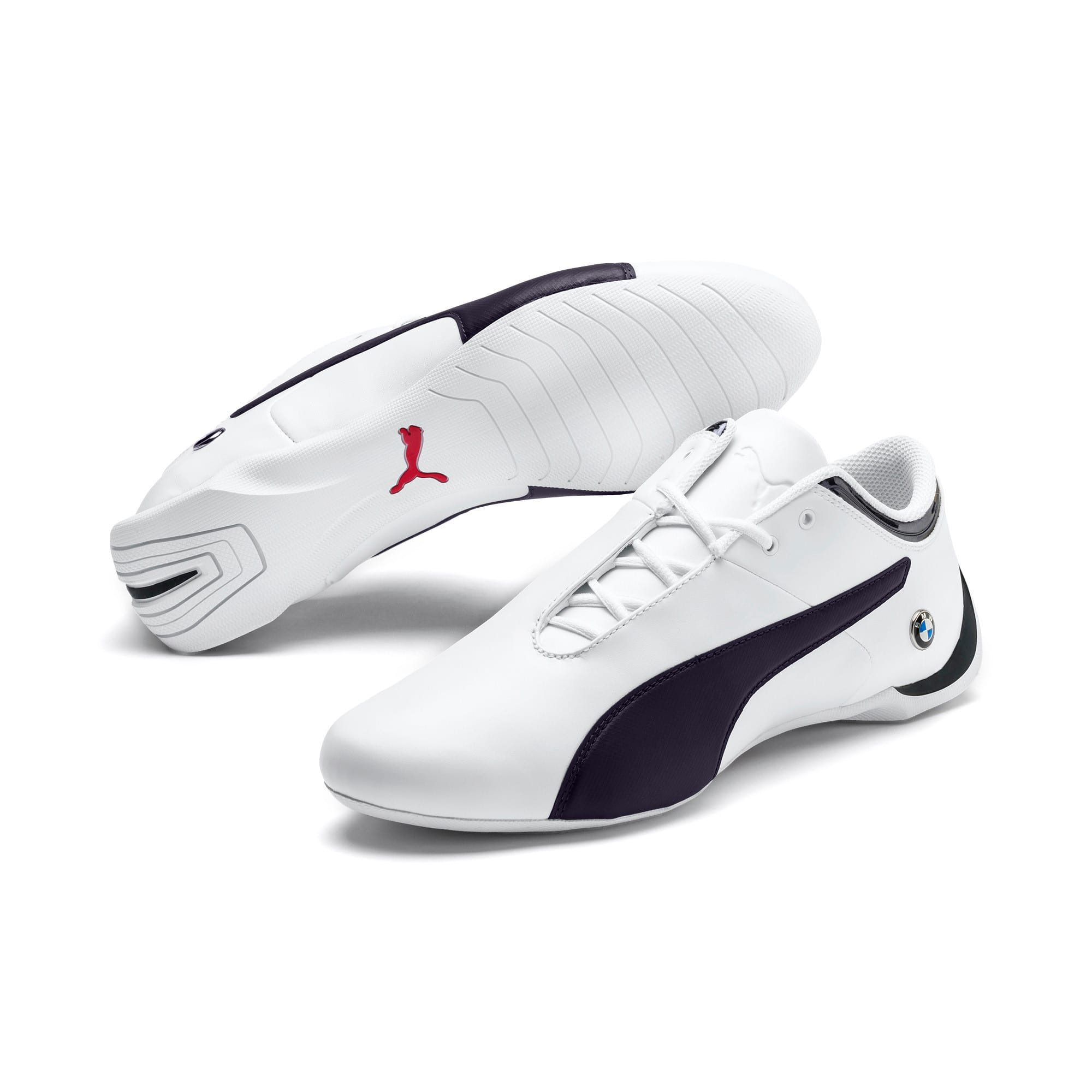 Thumbnail 2 of BMW Motorsport Future Cat Sneaker, Puma White-Team Blue-2, medium