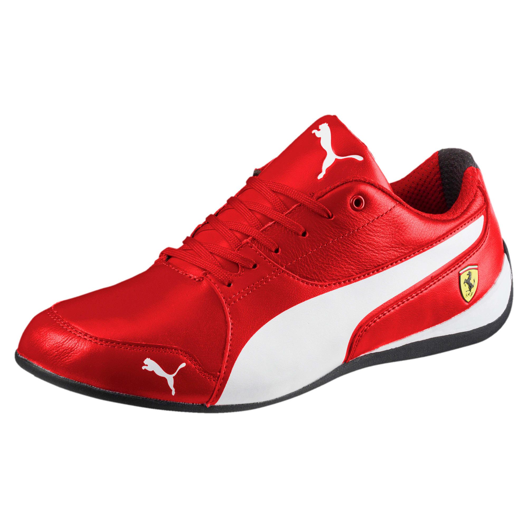 Thumbnail 1 of Scuderia Ferrari Drift Cat 7 Shoes, Rosso Corsa-Puma White-Black, medium
