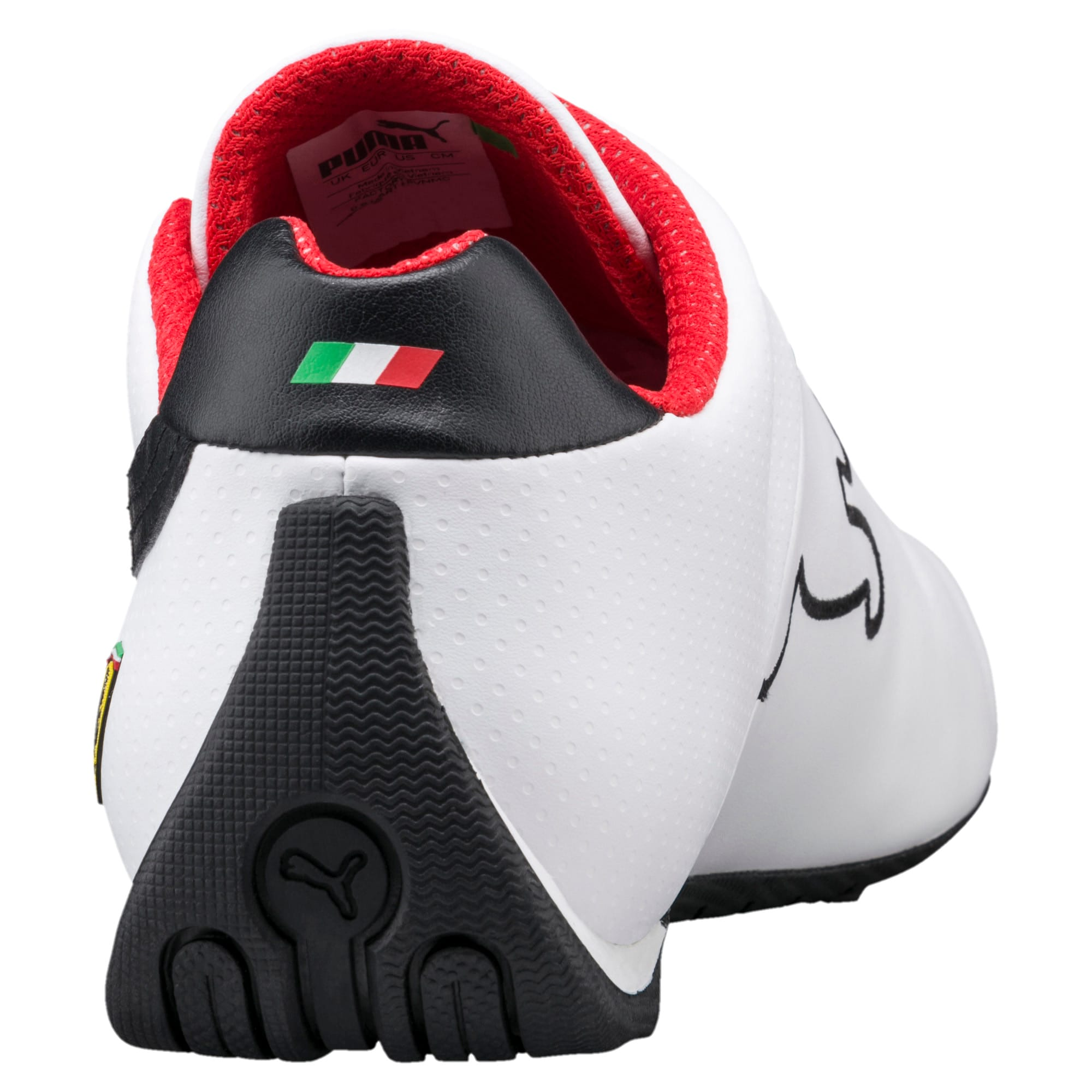 Thumbnail 4 of Ferrari Future Cat OG Trainers, White-Black-Rosso Corsa, medium