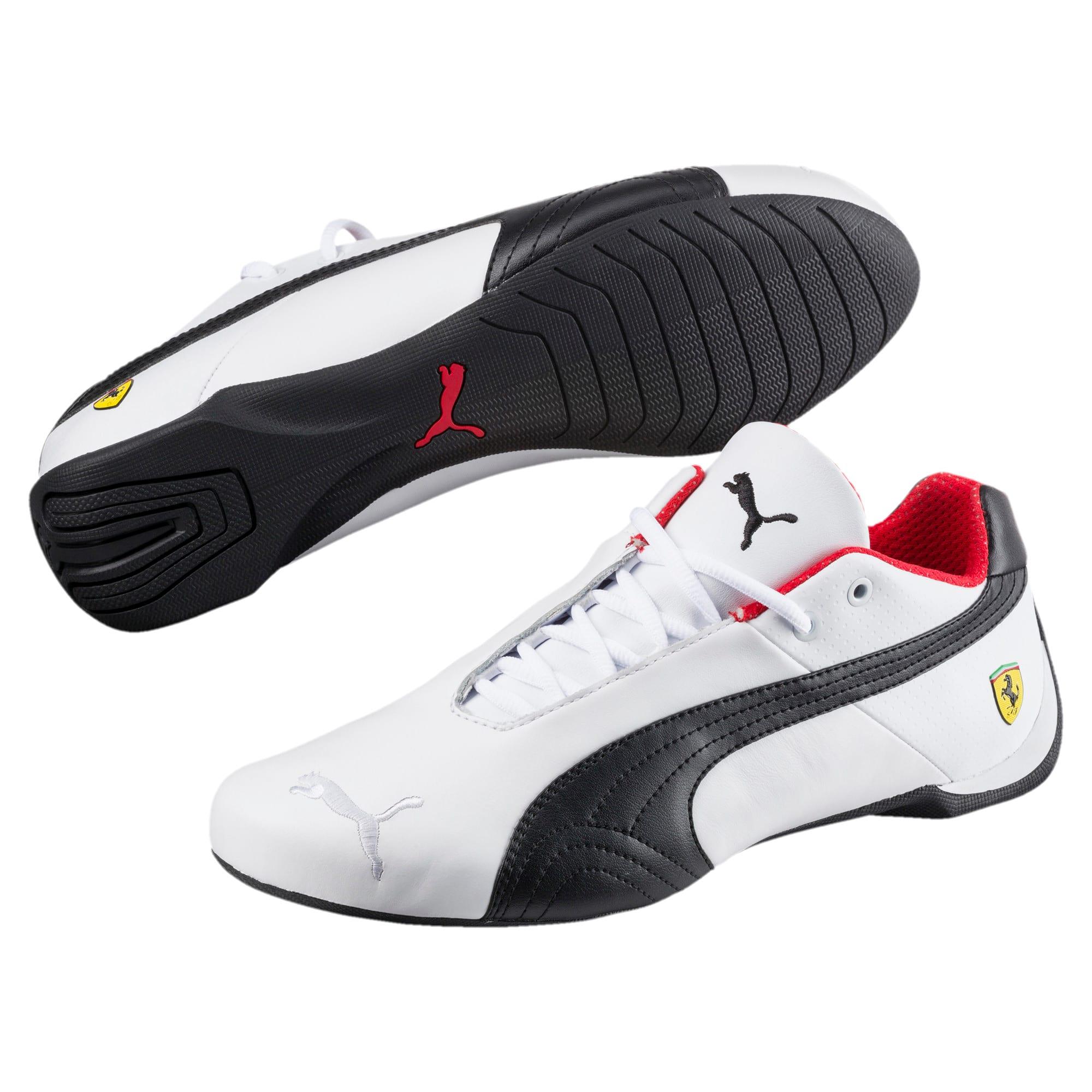 Thumbnail 2 of Ferrari Future Cat OG Trainers, White-Black-Rosso Corsa, medium
