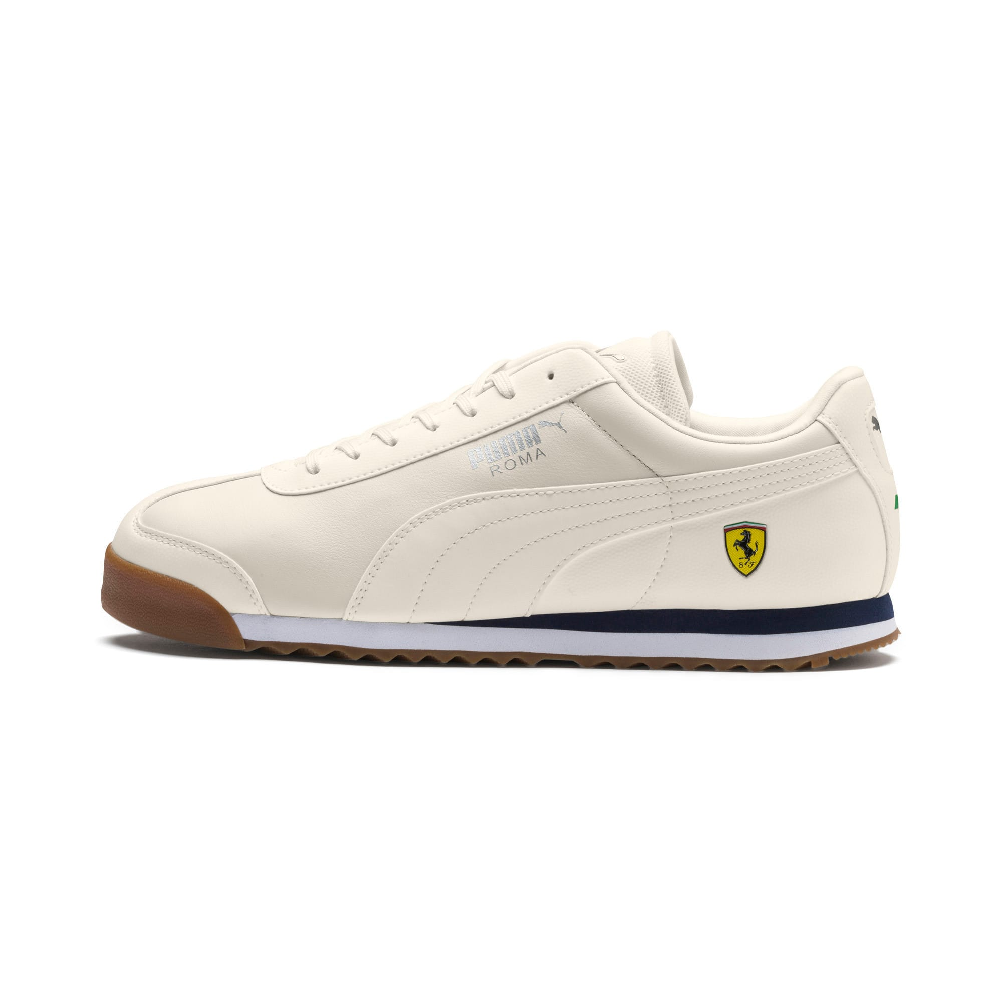 Thumbnail 1 of Scuderia Ferrari Roma Men's Sneakers, Whisper White-Whisper White, medium