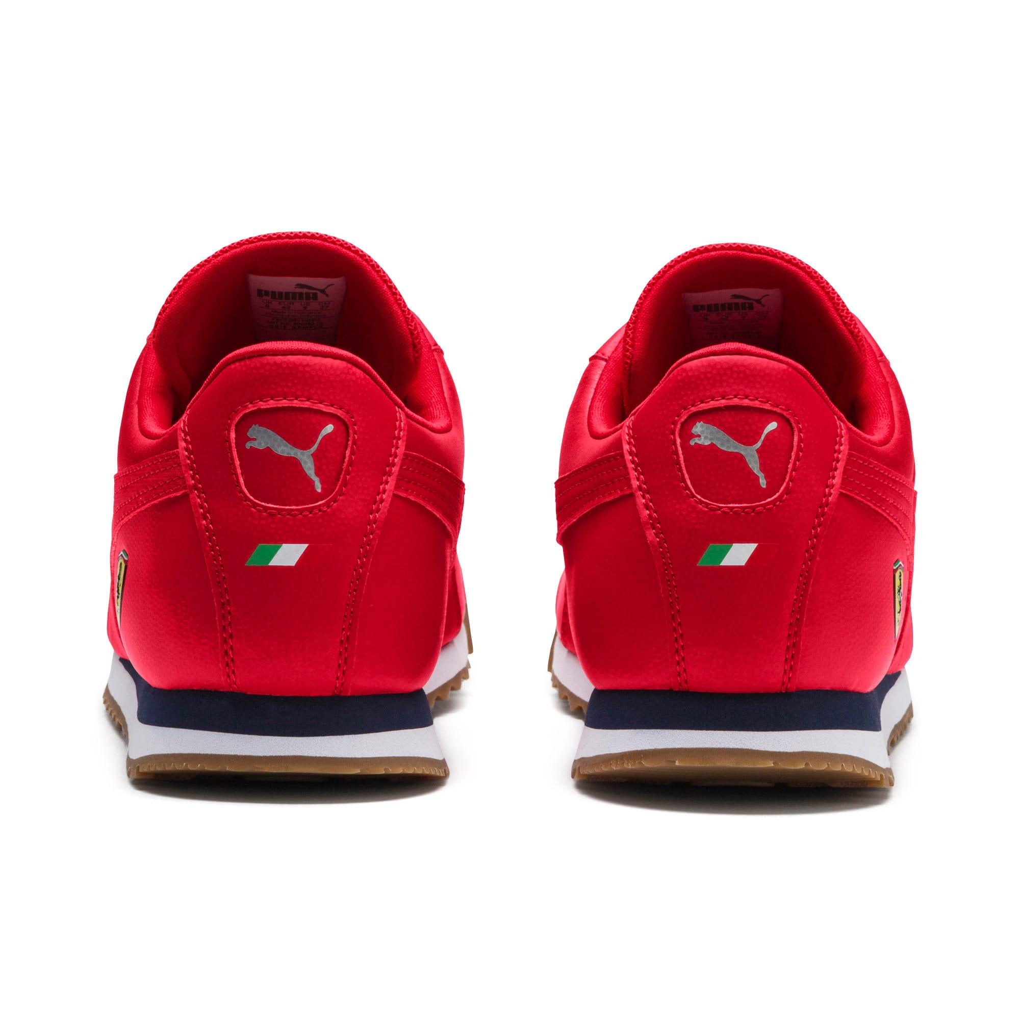 Thumbnail 4 of Scuderia Ferrari Roma Men's Sneakers, Rosso Corsa-Rosso Corsa, medium
