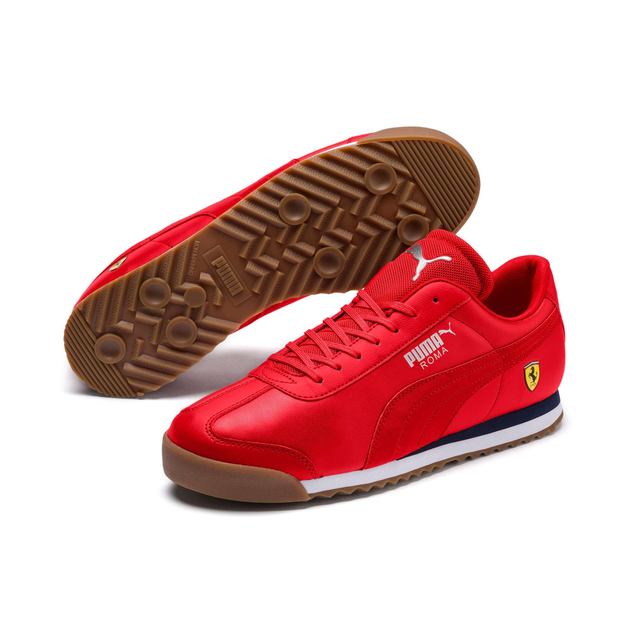 Thumbnail 2 of Scuderia Ferrari Roma Men's Sneakers, Rosso Corsa-Rosso Corsa, medium