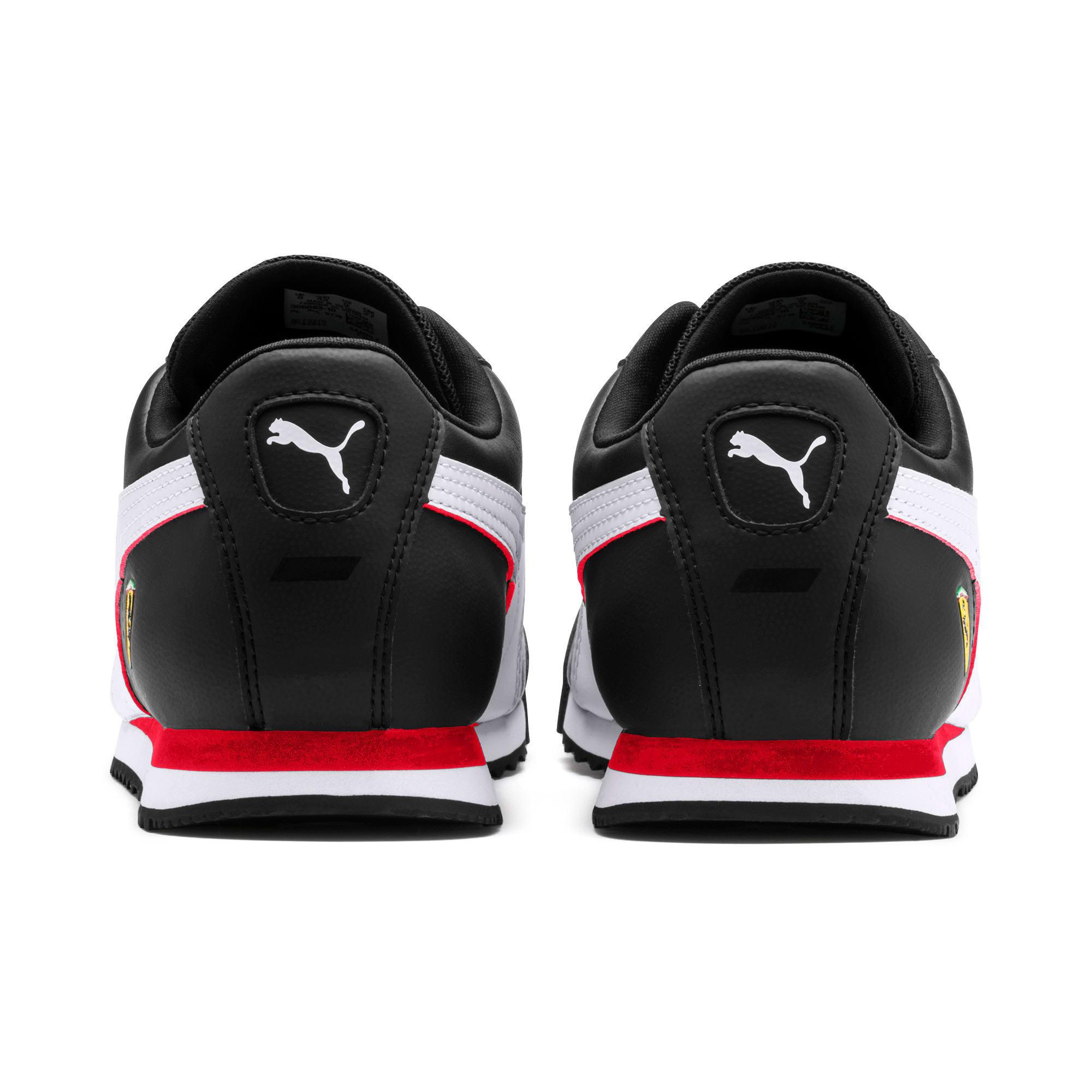 Thumbnail 4 of Scuderia Ferrari Roma Men's Sneakers, Black-White-Rosso Corsa, medium