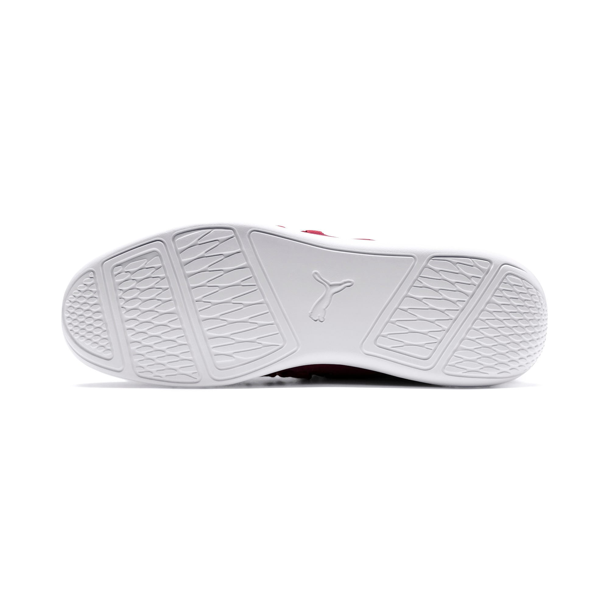 Thumbnail 3 of Ferrari Evo Cat Lace Lifestyle Shoes, Pomegranate-Bossa Nova-Wht, medium