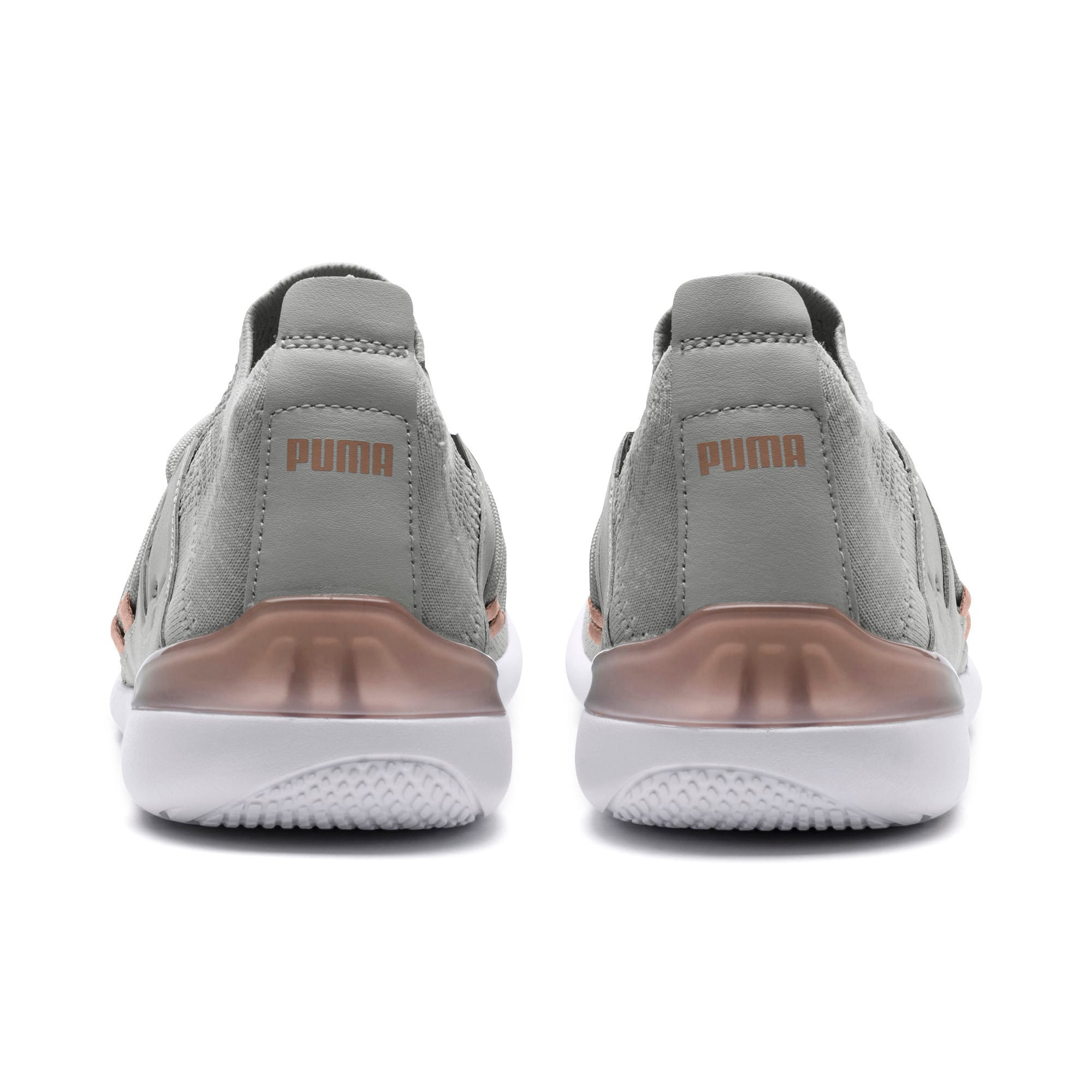 Thumbnail 4 of Evo Cat Sock Lace Monaco Women's Sneakers, GrayViolet-MahoganyRose-Wht, medium