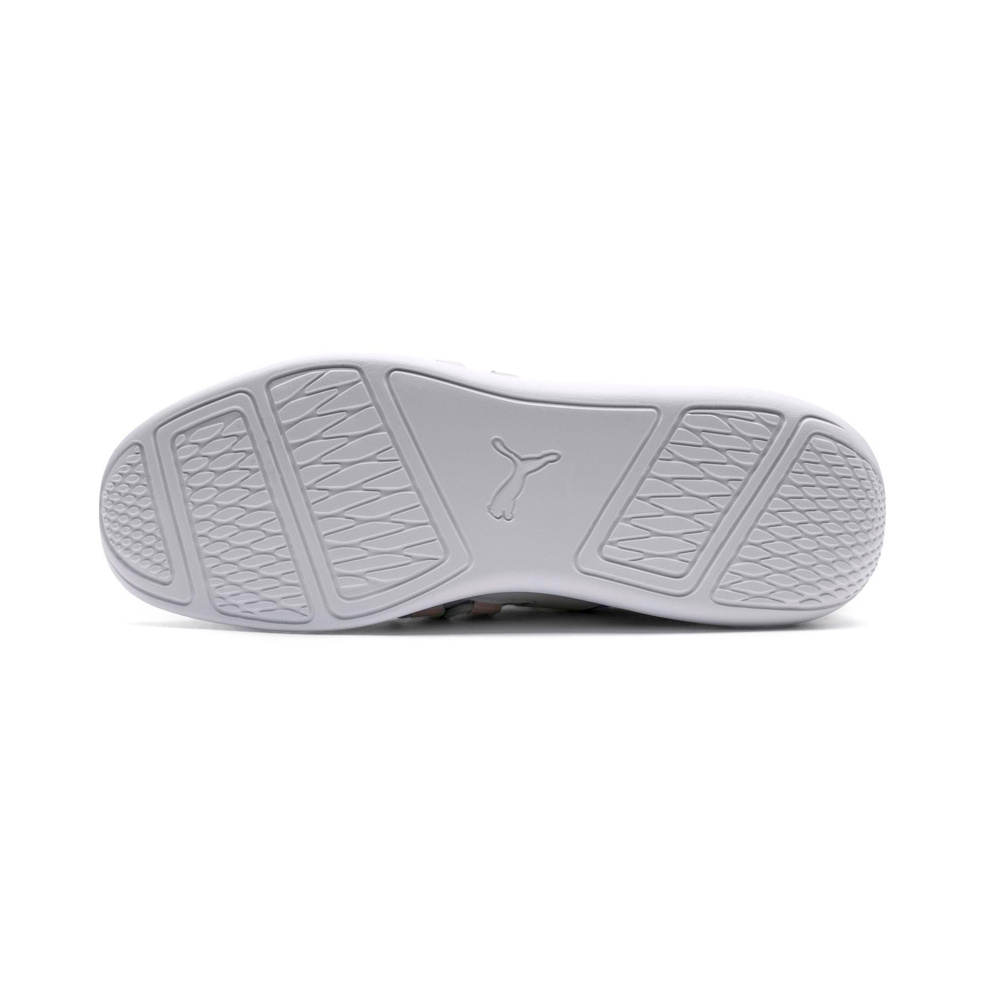 Thumbnail 3 of Evo Cat Sock Lace Monaco Women's Sneakers, GrayViolet-MahoganyRose-Wht, medium