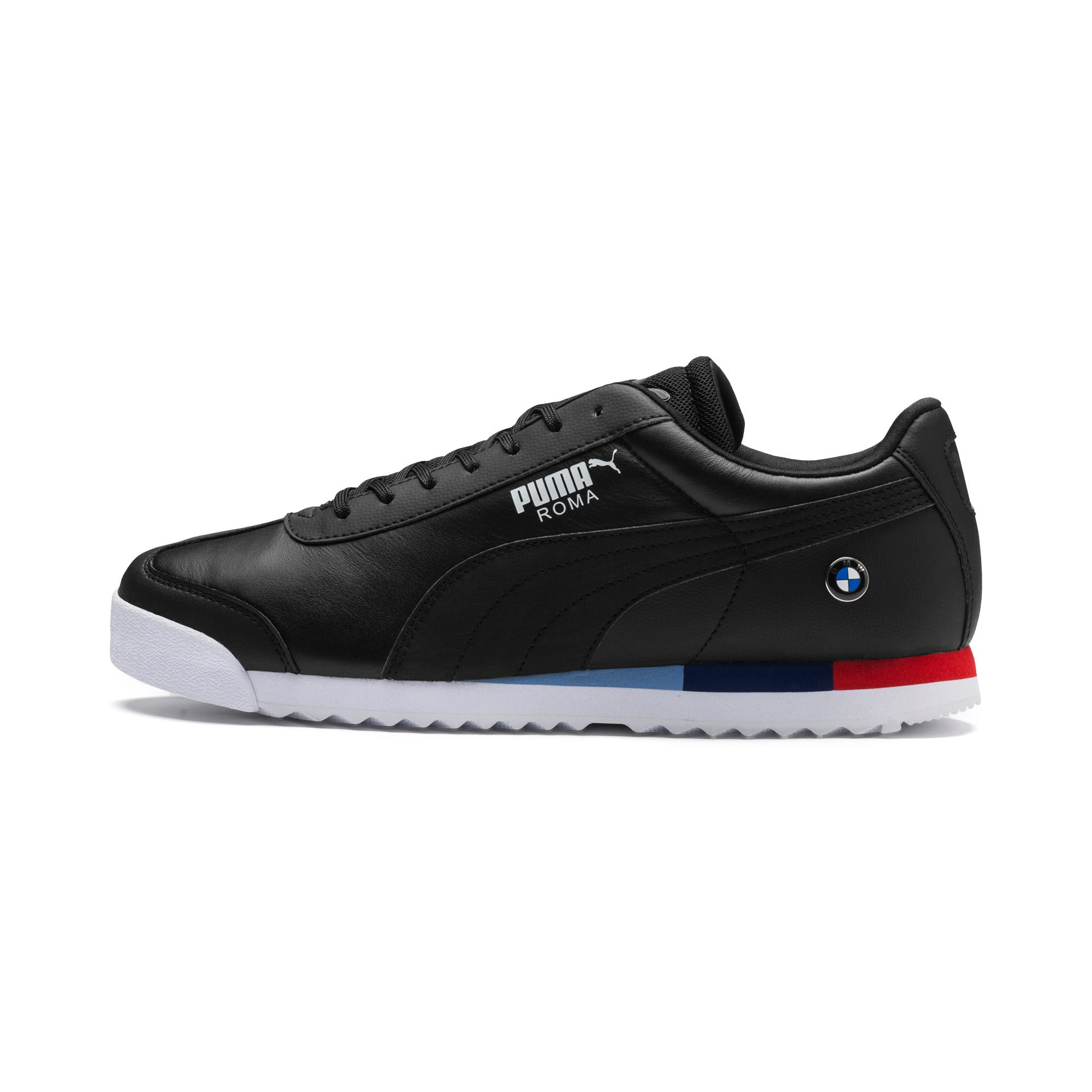 Thumbnail 1 of BMW MMS Roma Men's Trainers, Puma Black-Puma Black, medium