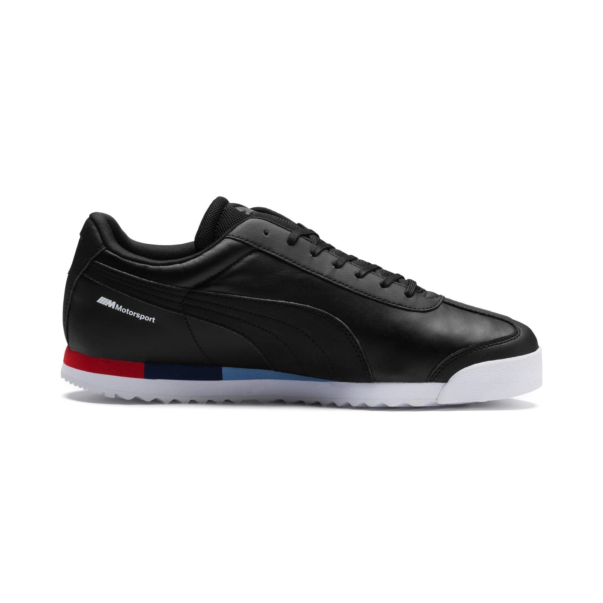 Thumbnail 5 of BMW MMS Roma Men's Trainers, Puma Black-Puma Black, medium
