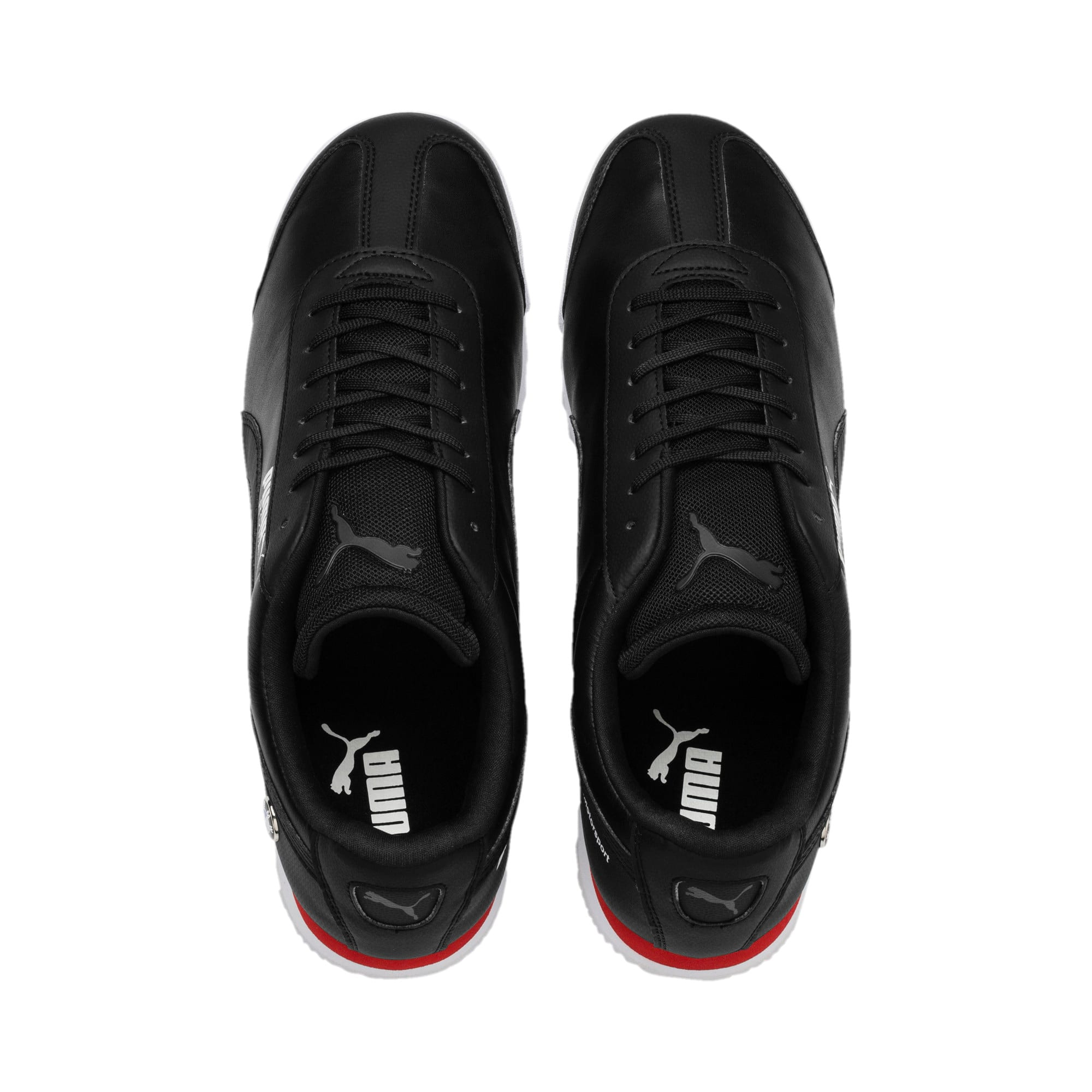 Thumbnail 6 of BMW MMS Roma Men's Trainers, Puma Black-Puma Black, medium