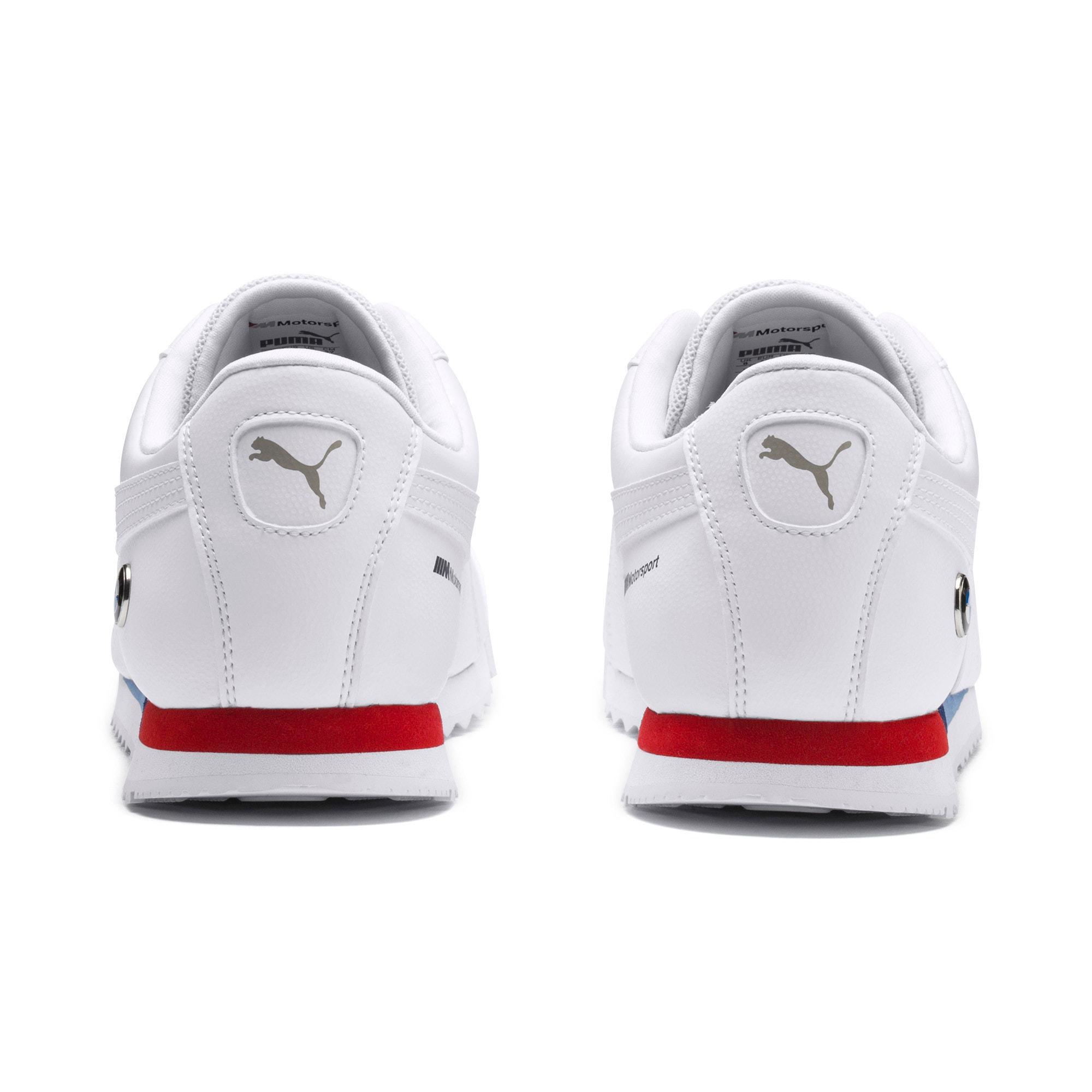 Thumbnail 3 of BMW M Motorsport Roma Herren Sneaker, Puma White-Puma White, medium