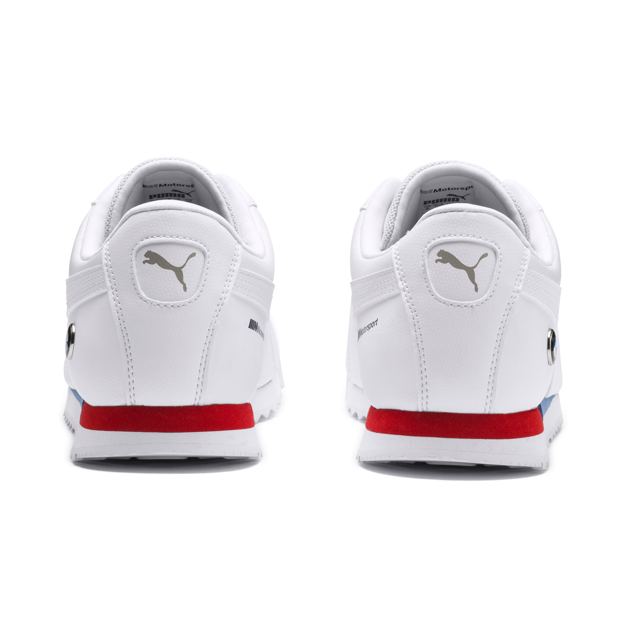Thumbnail 3 of BMW M Motorsport Roma Men's Sneakers, Puma White-Puma White, medium
