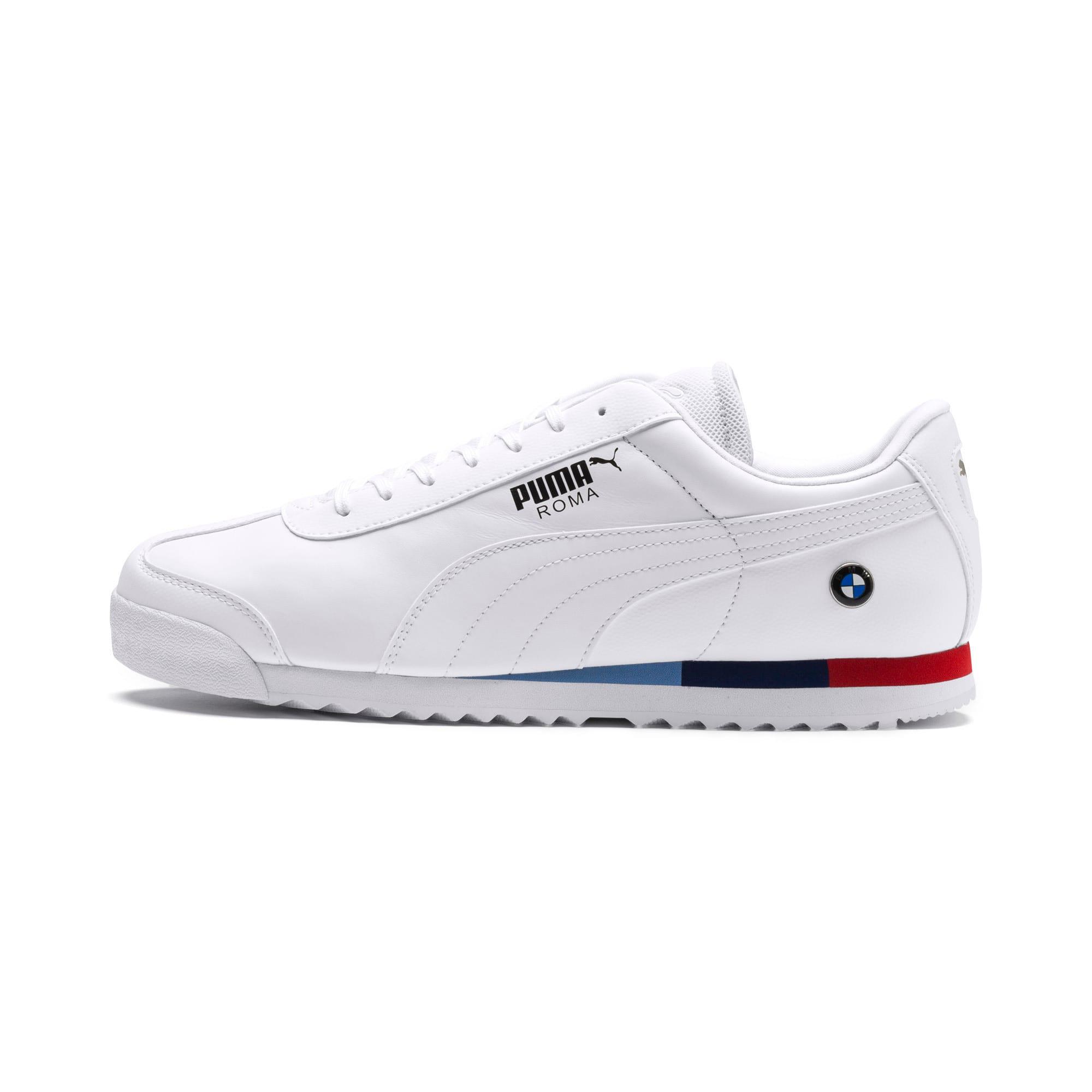 Thumbnail 1 of BMW M Motorsport Roma Herren Sneaker, Puma White-Puma White, medium