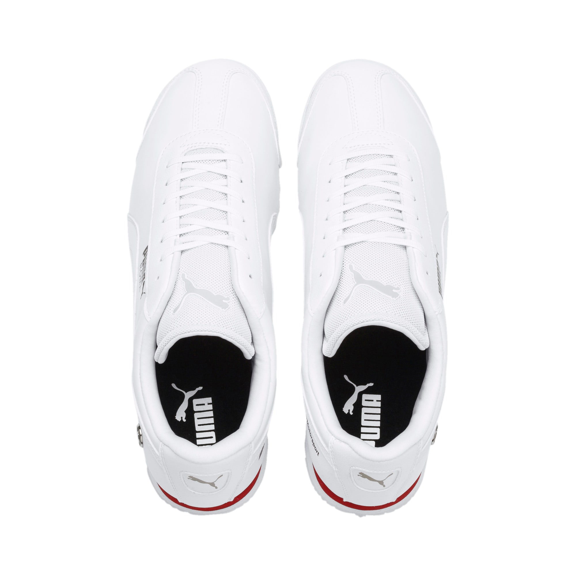 Thumbnail 6 of BMW M Motorsport Roma Men's Sneakers, Puma White-Puma White, medium