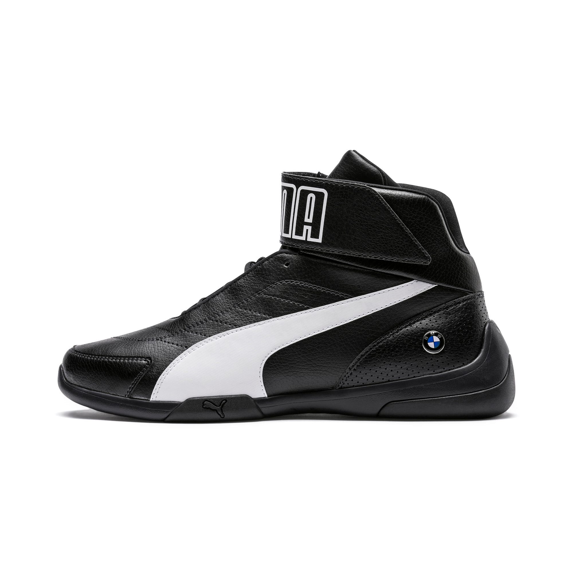 Thumbnail 1 of BMW M Motorsport Kart Cat III Mid Men's Shoes, Anthracite-Puma White, medium