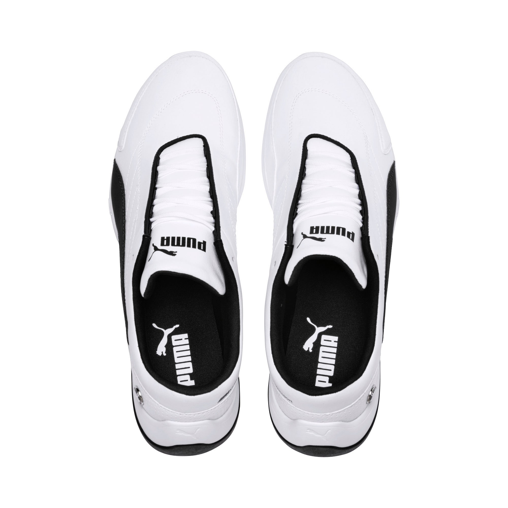 Thumbnail 6 of BMW M Motorsport Kart Cat III Shoes, Puma White-Anthracite, medium