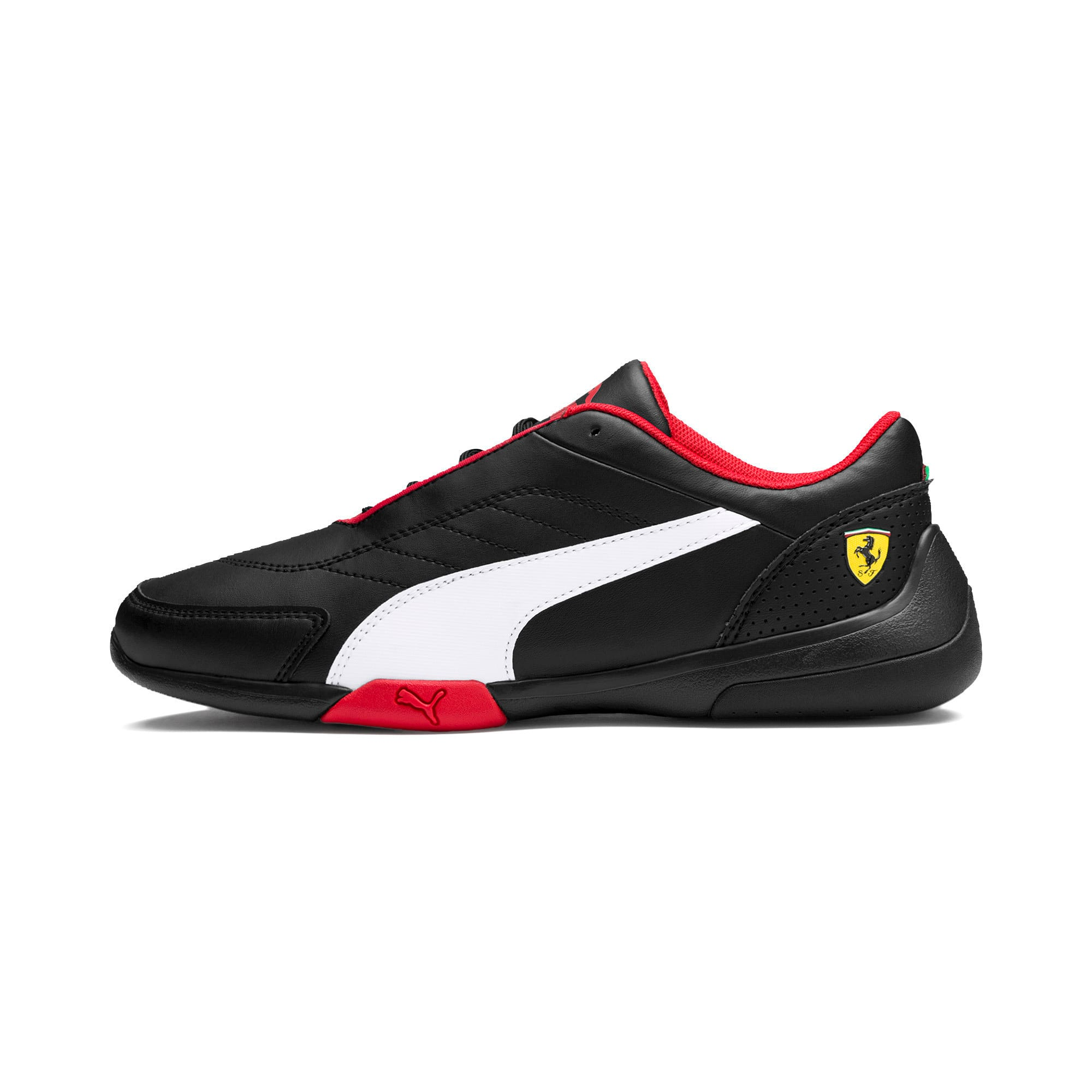 Thumbnail 1 of Scuderia Ferrari Kart Cat III Shoes, Puma Black-Puma White, medium