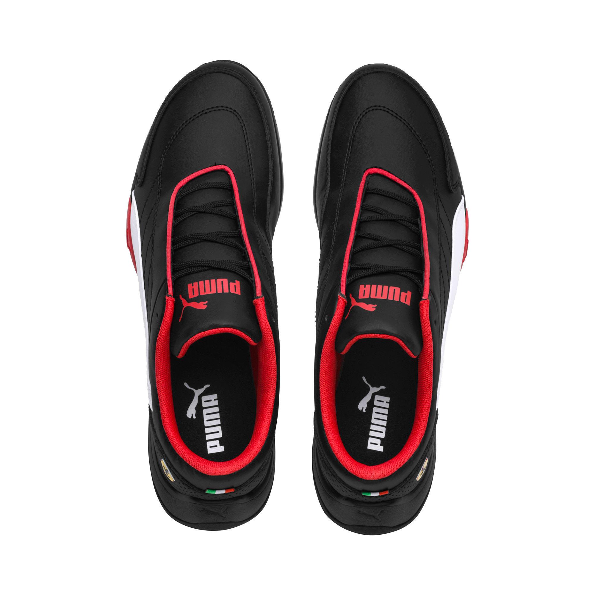 Thumbnail 6 of Scuderia Ferrari Kart Cat III Shoes, Puma Black-Puma White, medium
