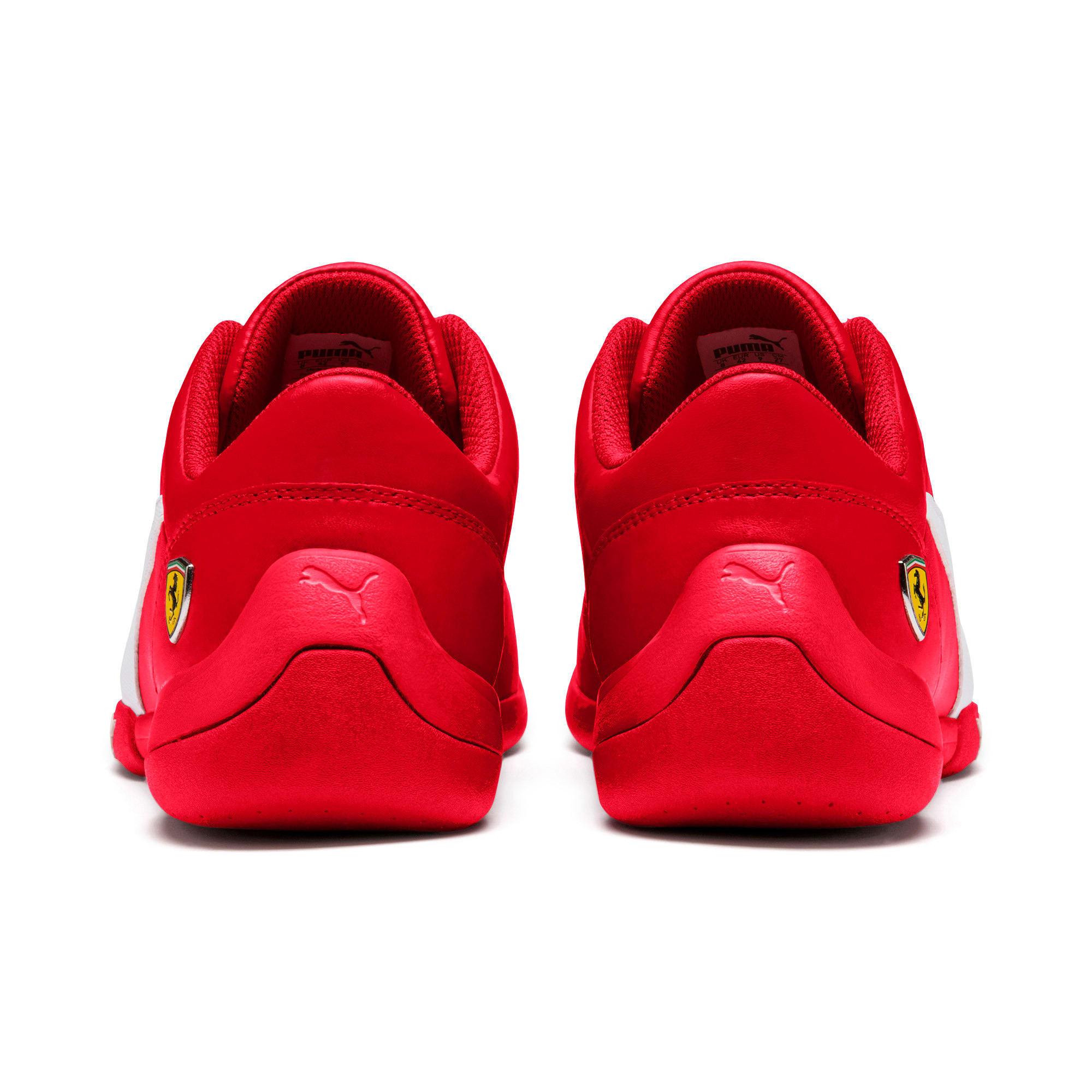 Thumbnail 4 of Scuderia Ferrari Kart Cat III Shoes, Rosso Corsa-White, medium