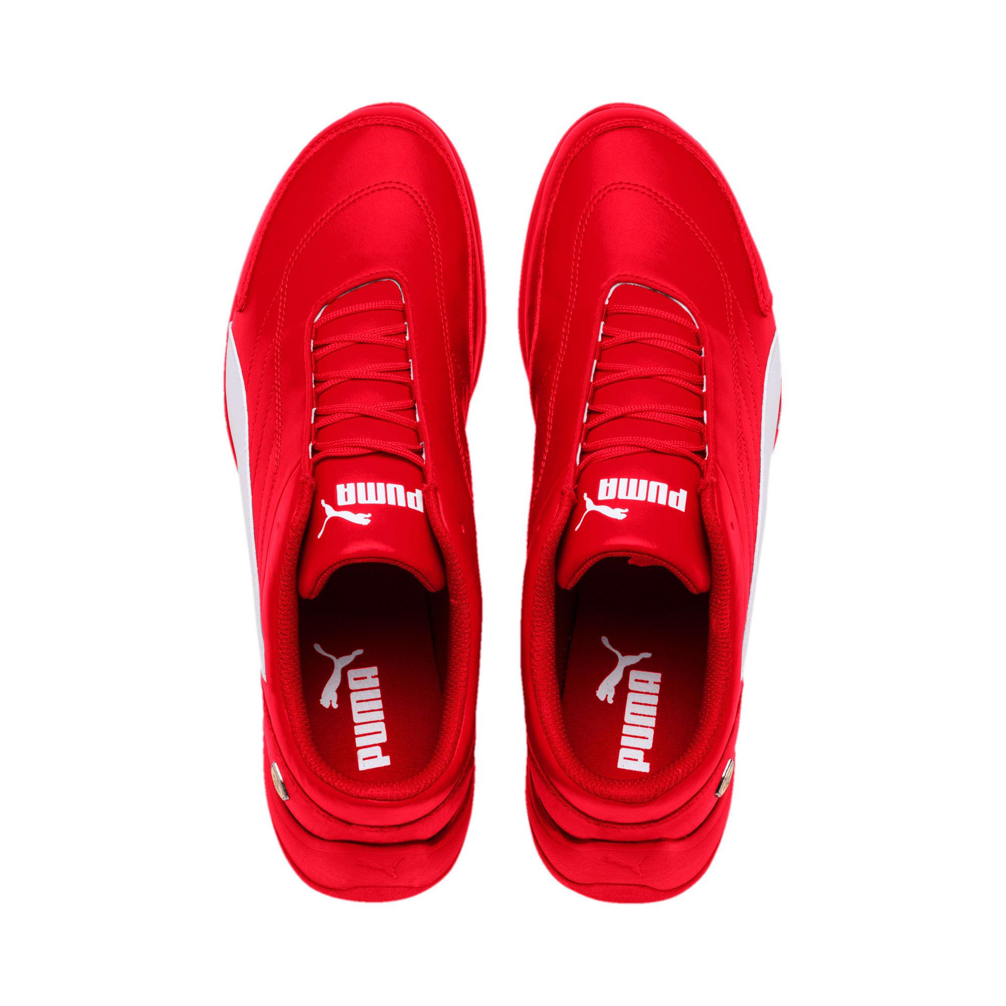 Thumbnail 7 of Scuderia Ferrari Kart Cat III Shoes, Rosso Corsa-White, medium