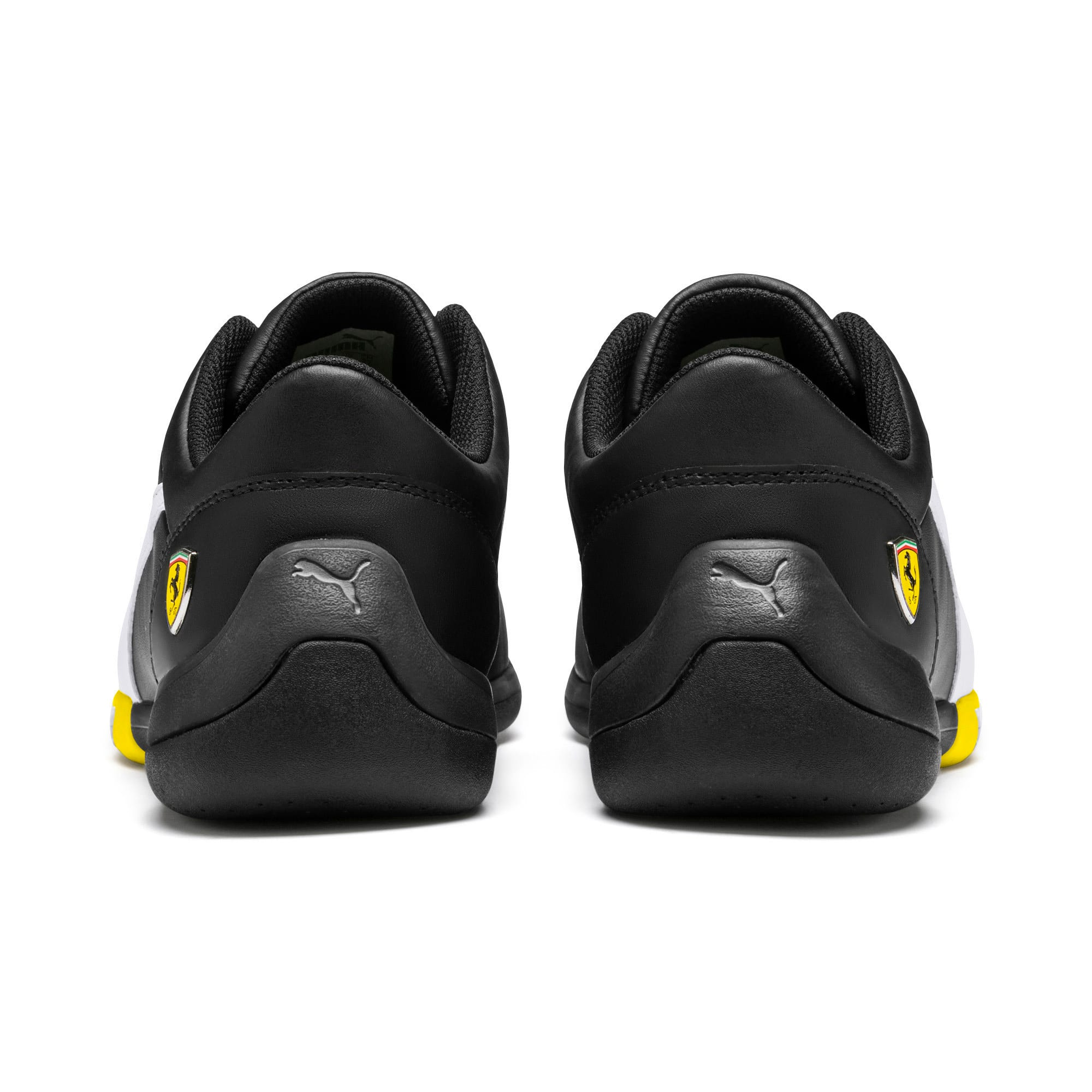 Thumbnail 4 of Ferrari Kart Cat III Sneaker, Black-White-Blazing Yellow, medium