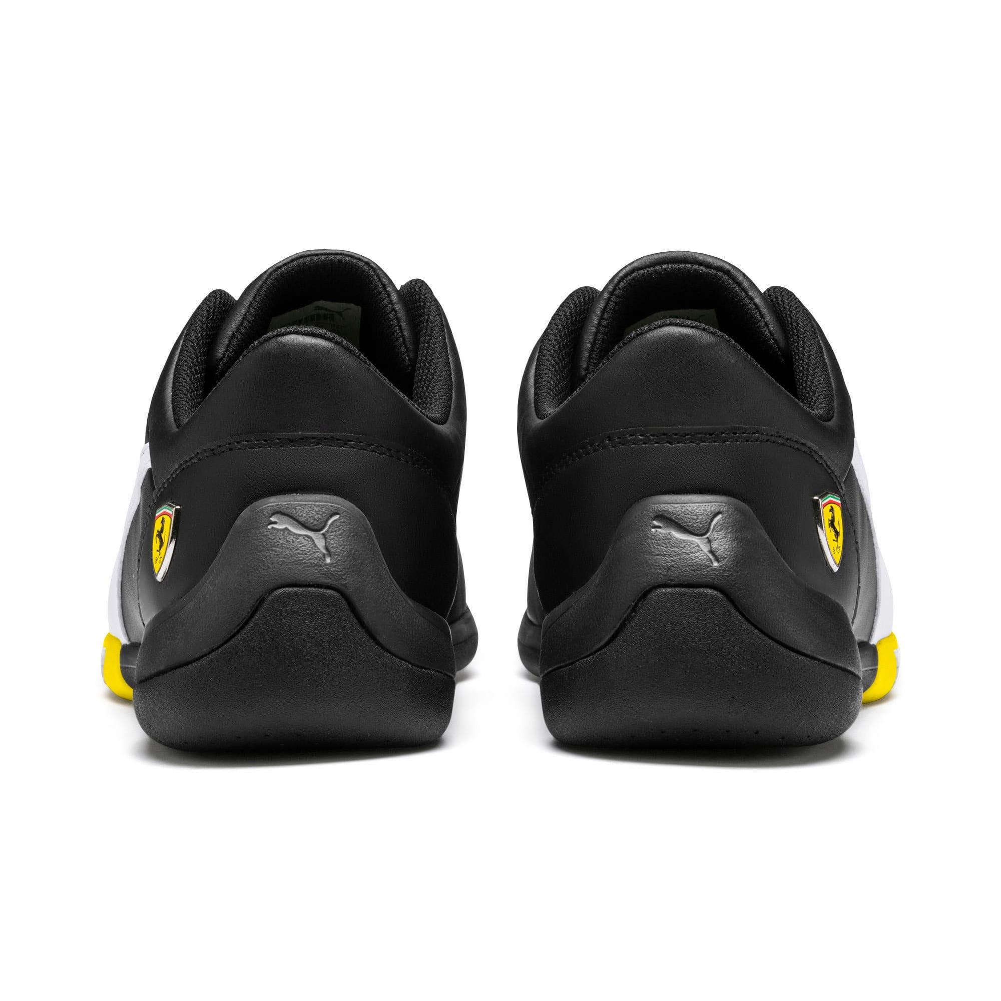 Thumbnail 4 of Scuderia Ferrari Kart Cat III Shoes, Black-White-Blazing Yellow, medium