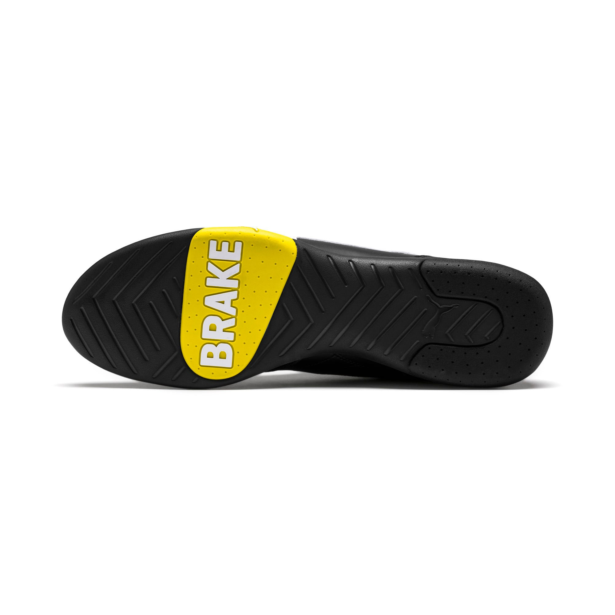Thumbnail 5 of Ferrari Kart Cat III Sneaker, Black-White-Blazing Yellow, medium