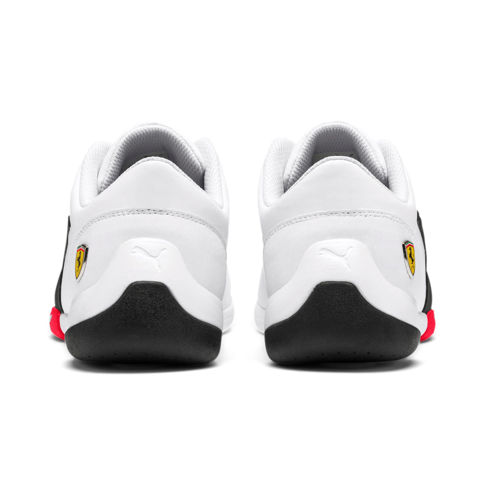 Thumbnail 5 of Scuderia Ferrari Kart Cat III Shoes, White-Black-Rosso Corsa, medium