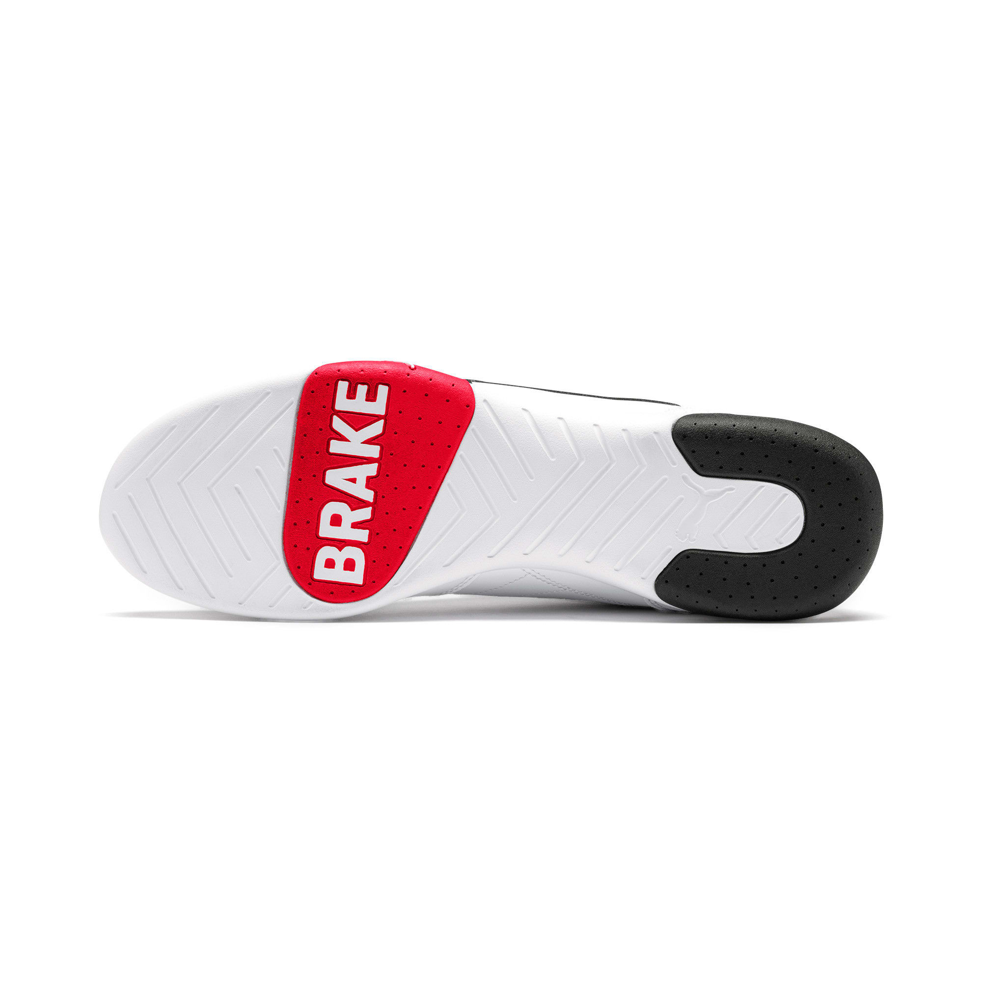 Thumbnail 3 of Scuderia Ferrari Kart Cat III Shoes, White-Black-Rosso Corsa, medium