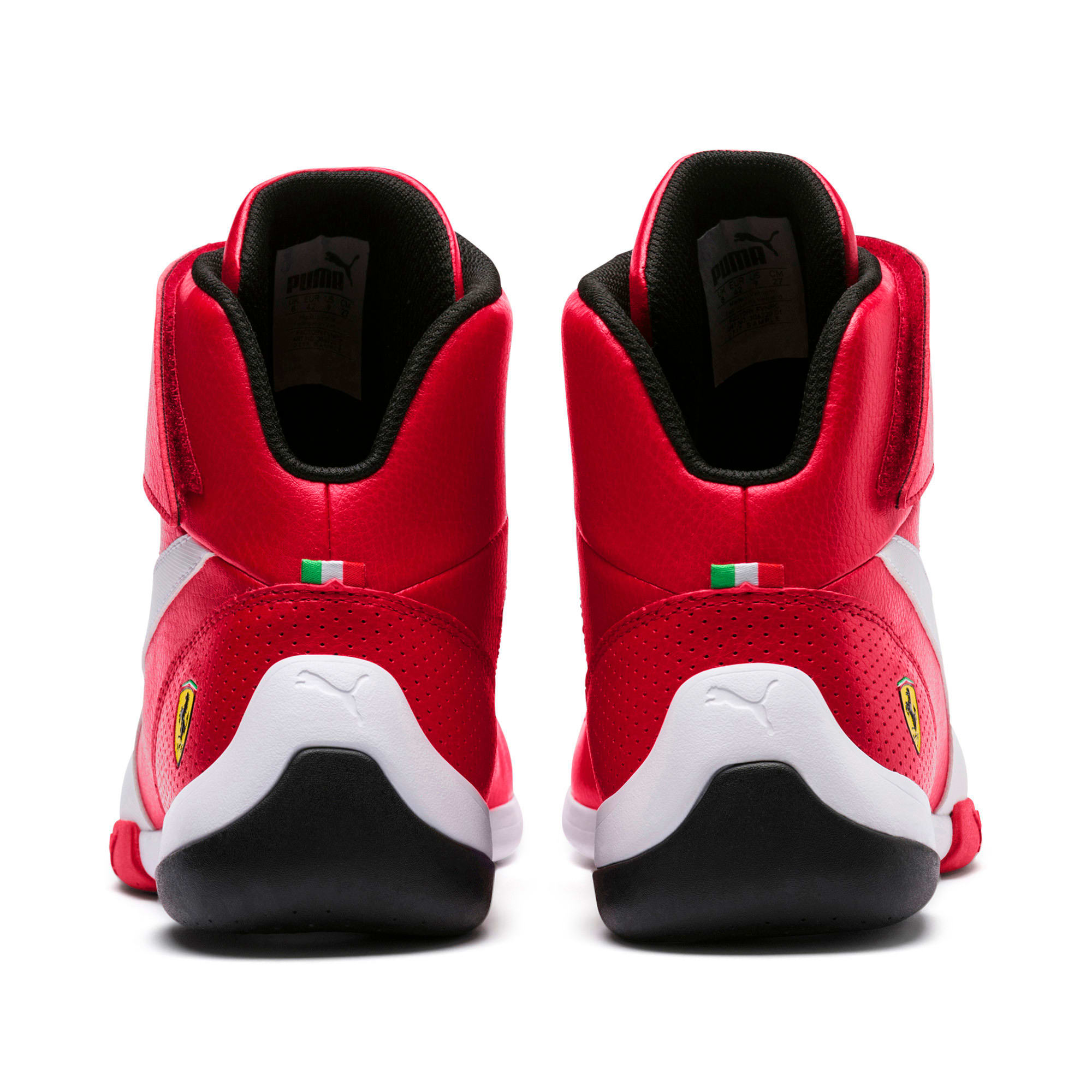 Scuderia Kart Iii Shoes Hi Top Cat Mid Ferrari PiXukZO