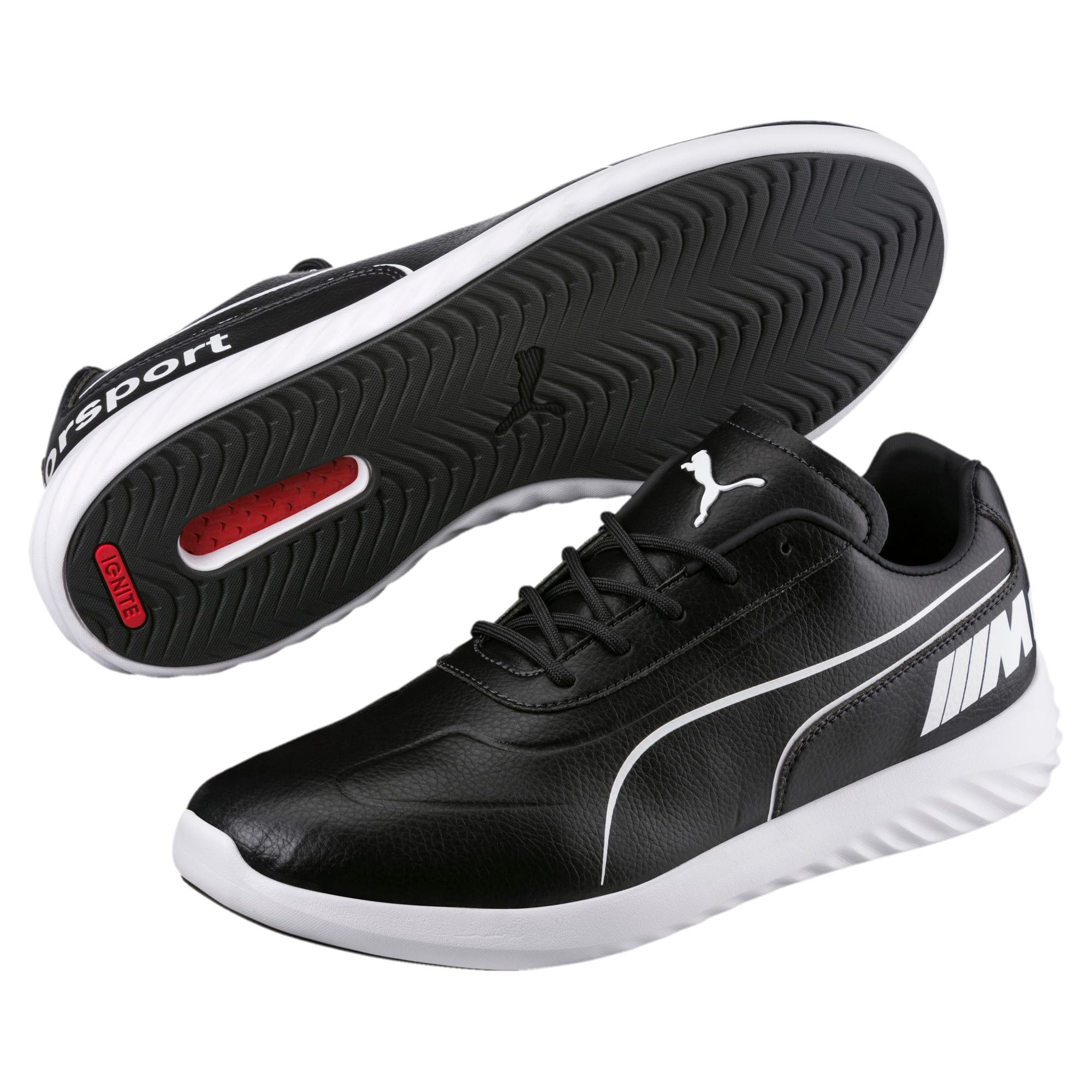 Thumbnail 2 of BMW M Motorsport SpeedCat Evo Synth Sneakers, Anthracite-Puma White, medium