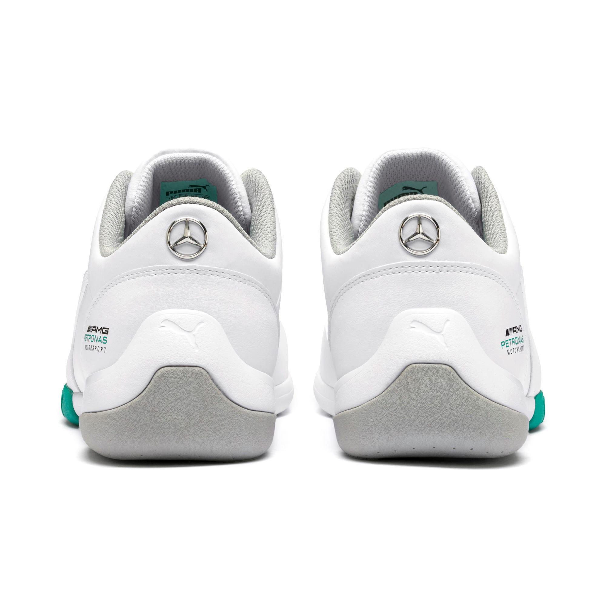Miniatura 5 de Zapatos Mercedes AMG Petronas Kart Cat III, Puma White-Puma White, mediano
