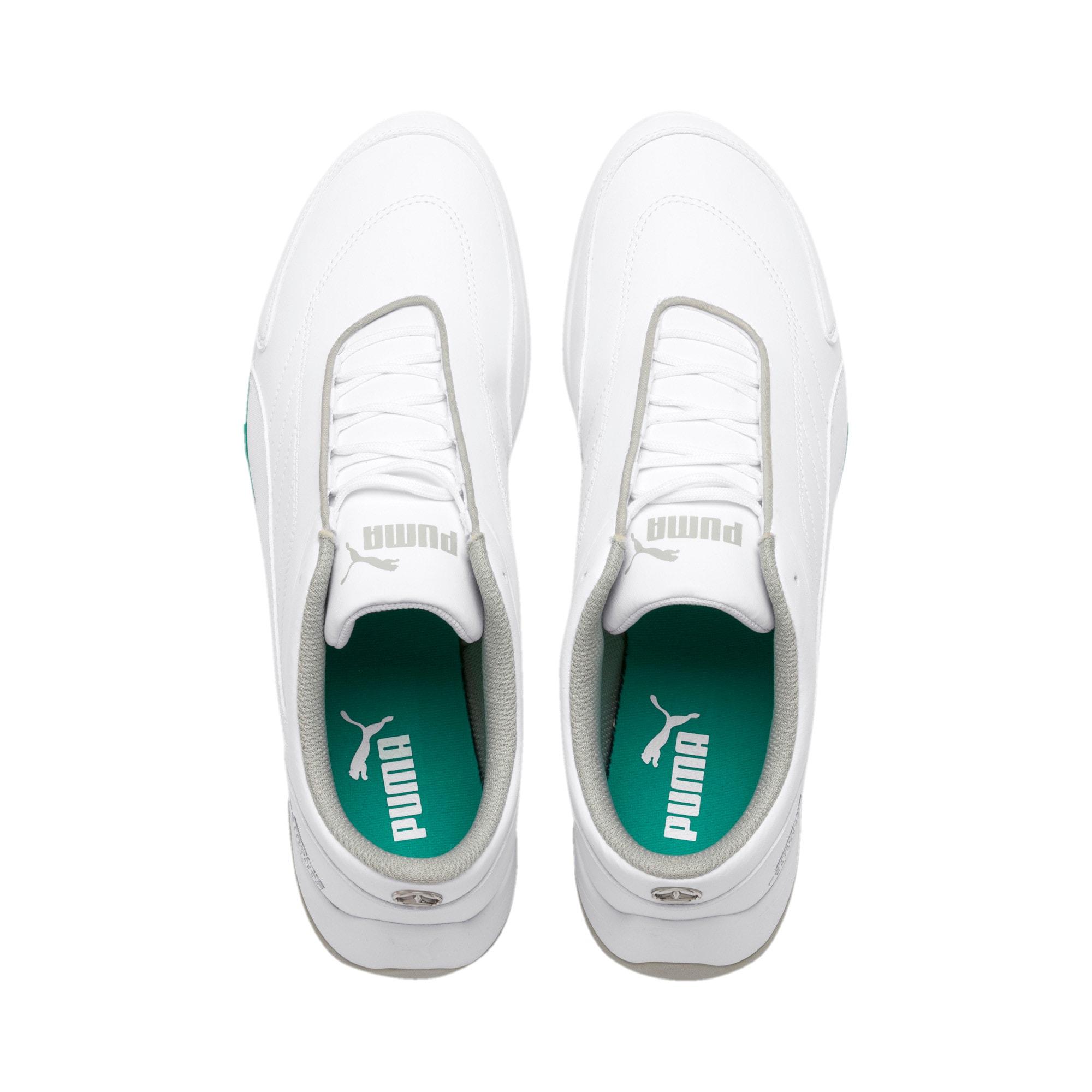 Miniatura 7 de Zapatos Mercedes AMG Petronas Kart Cat III, Puma White-Puma White, mediano