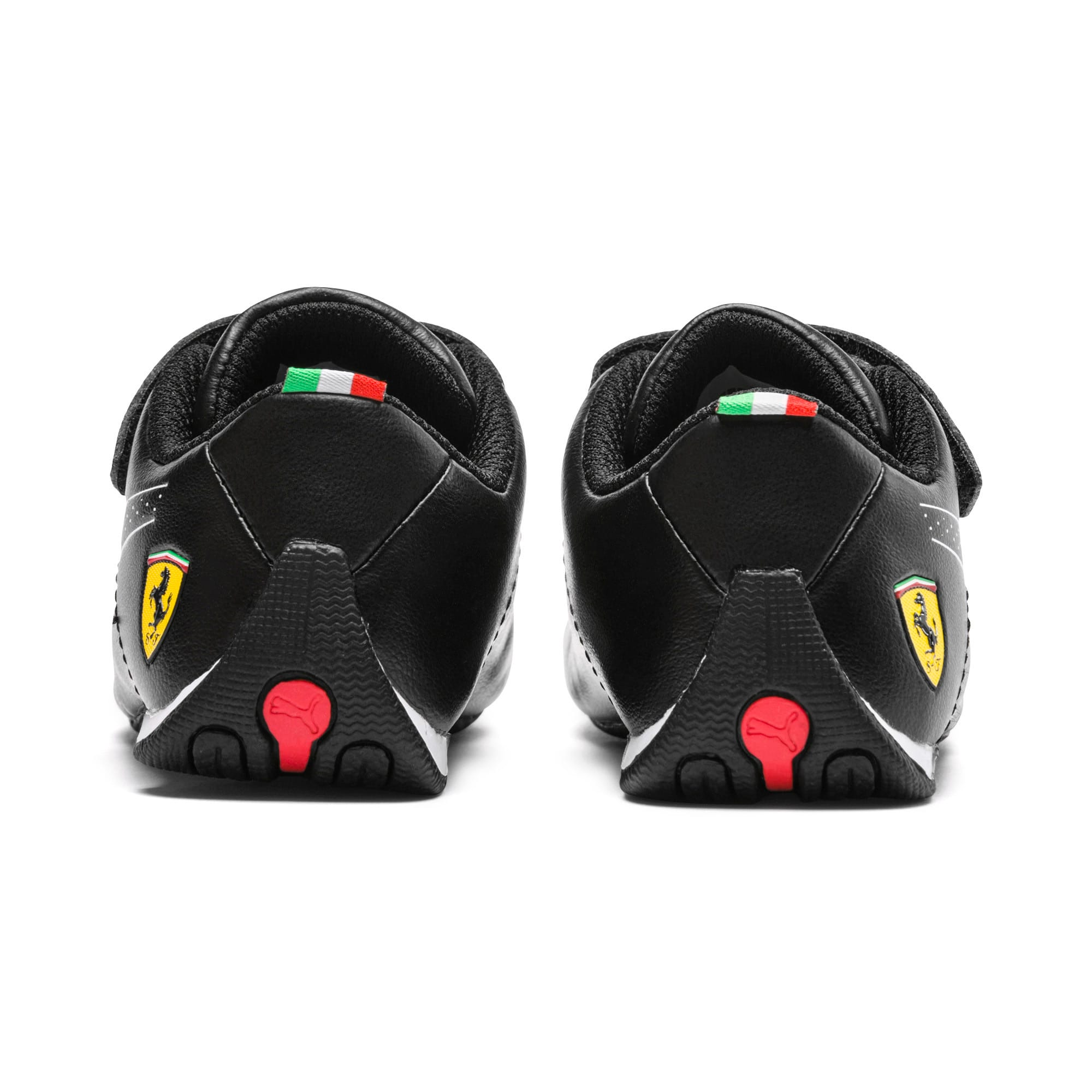 Thumbnail 4 of Scuderia Ferrari Future Cat Ultra Toddler Shoes, Puma Black-Puma White, medium