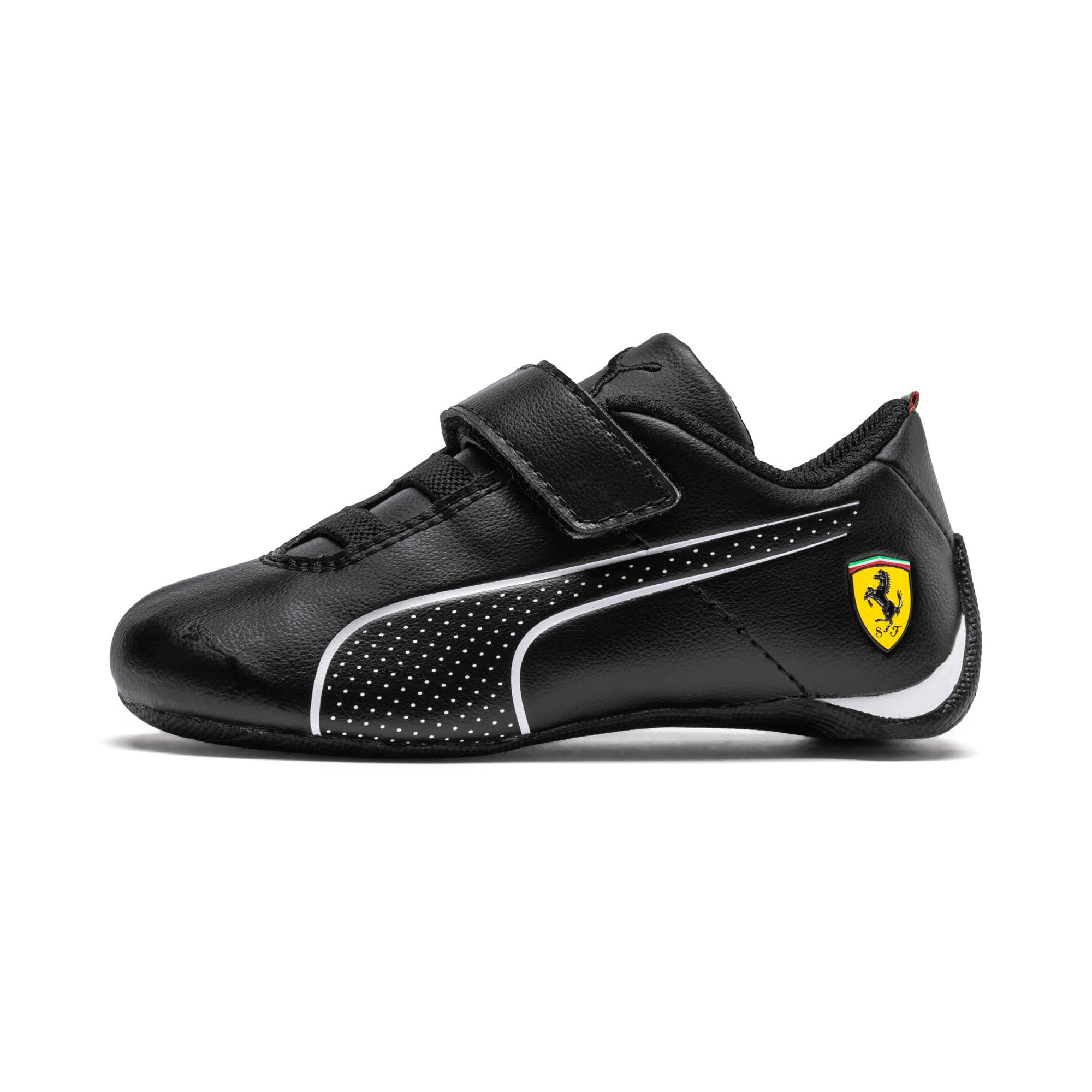 Thumbnail 1 of Scuderia Ferrari Future Cat Ultra Toddler Shoes, Puma Black-Puma White, medium