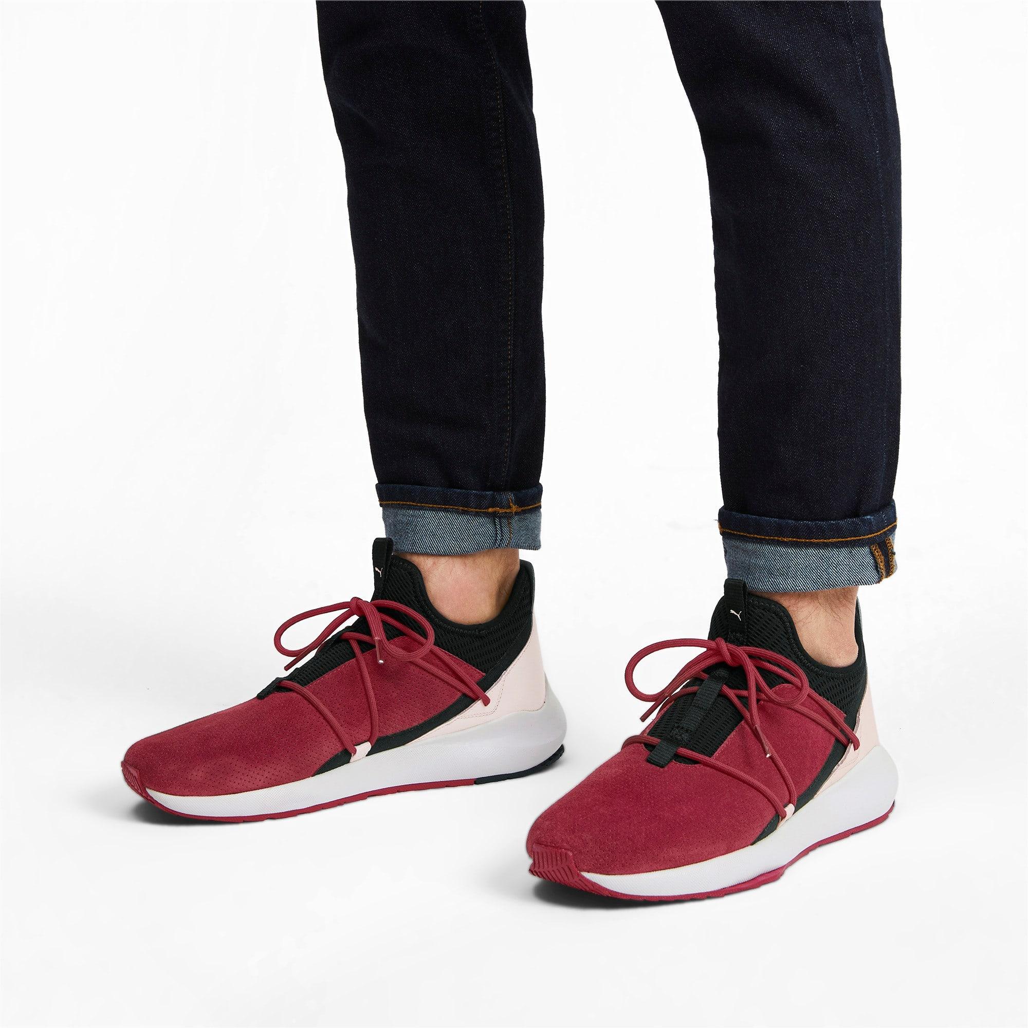 Miniatura 2 de Zapatos de entrenamiento de gamuzaScuderiaFerrariEvo Cat II, Rhubarb-Blk-PastelParchment, mediano
