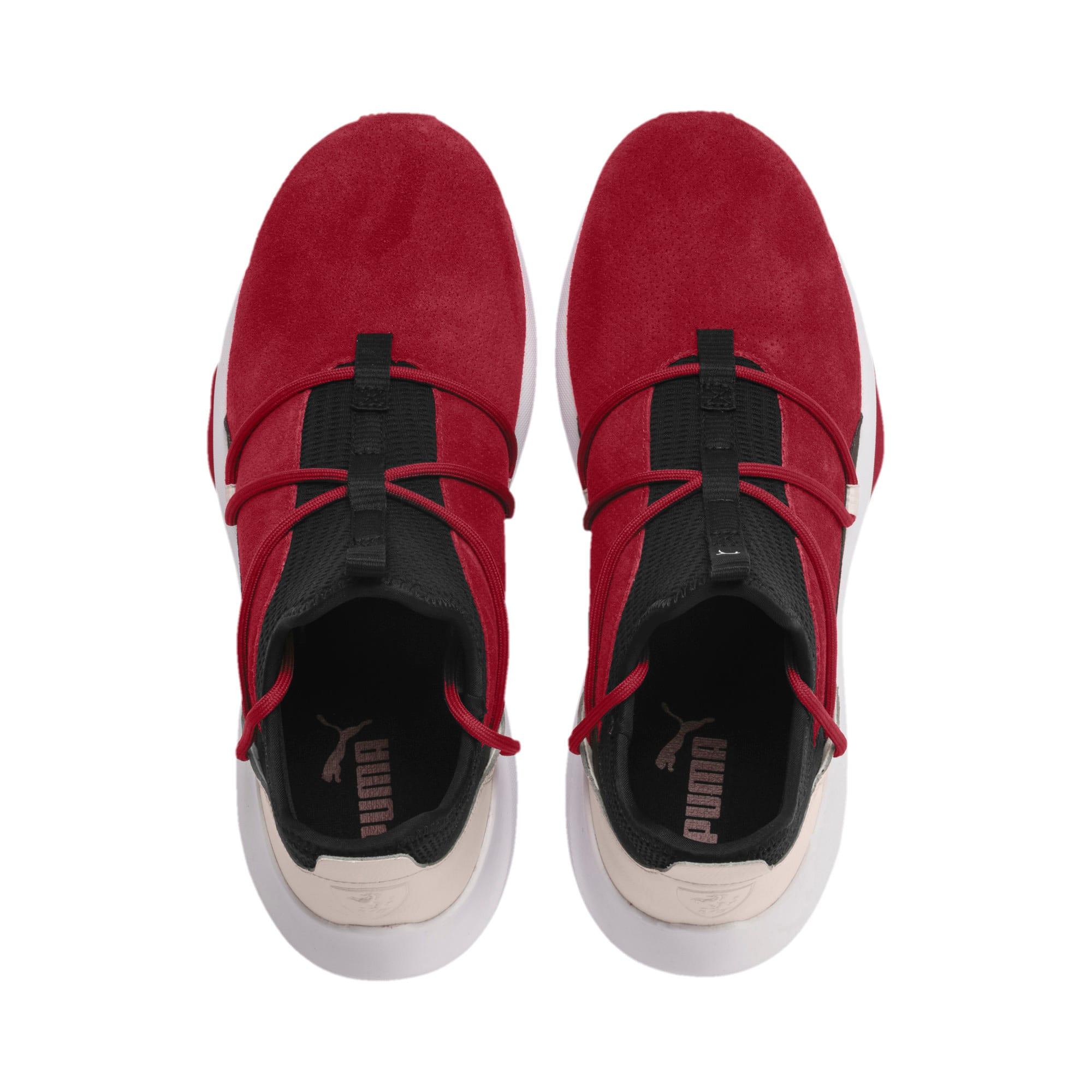 Miniatura 7 de Zapatos de entrenamiento de gamuzaScuderiaFerrariEvo Cat II, Rhubarb-Blk-PastelParchment, mediano