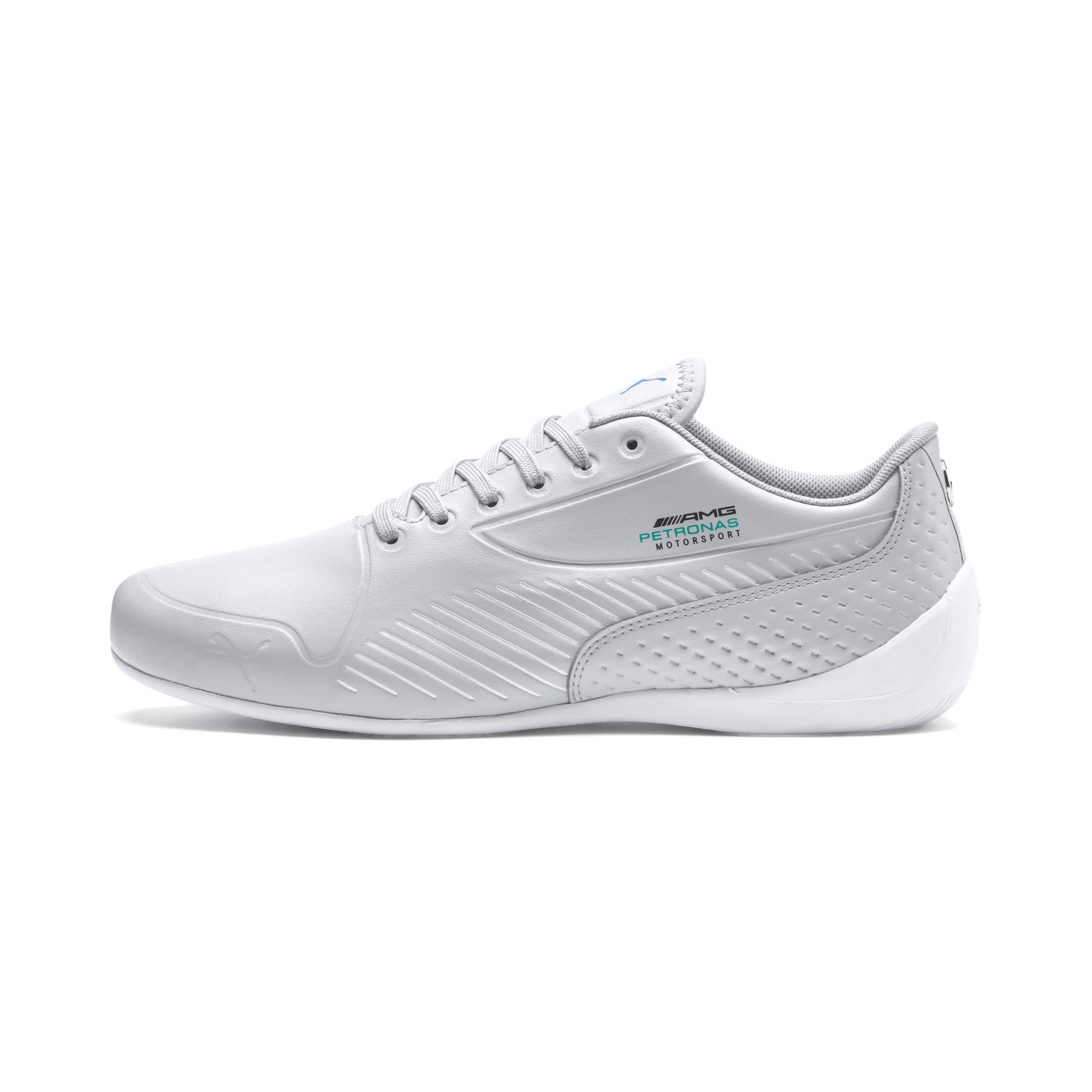 Thumbnail 1 of Mercedes AMG Petronas Drift Cat 7S Ultra Men's Shoes, Mercedes Team Silver-White, medium