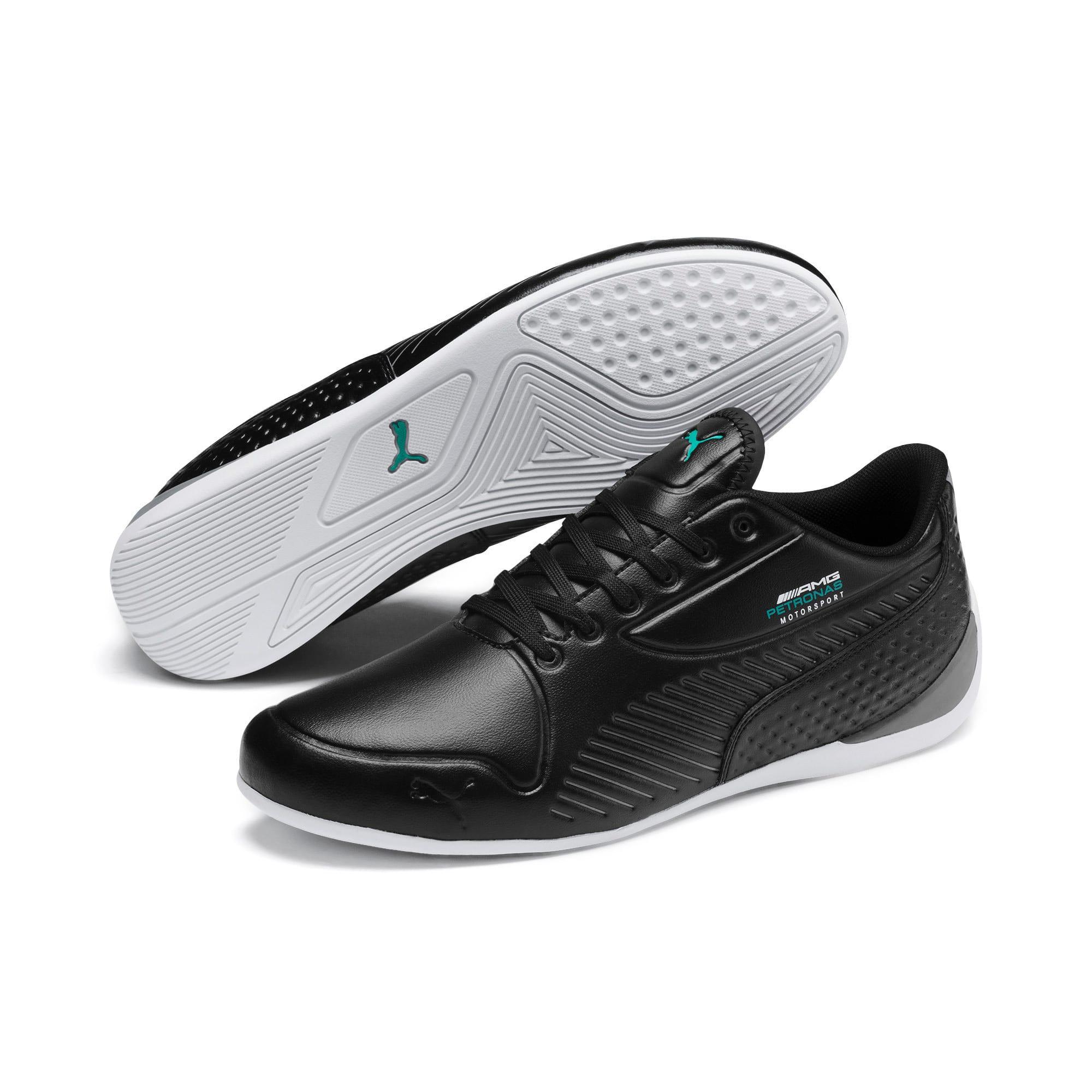 Thumbnail 3 of Mercedes AMG Petronas Drift Cat 7S Ultra Men's Shoes, Puma Black-Puma Black, medium