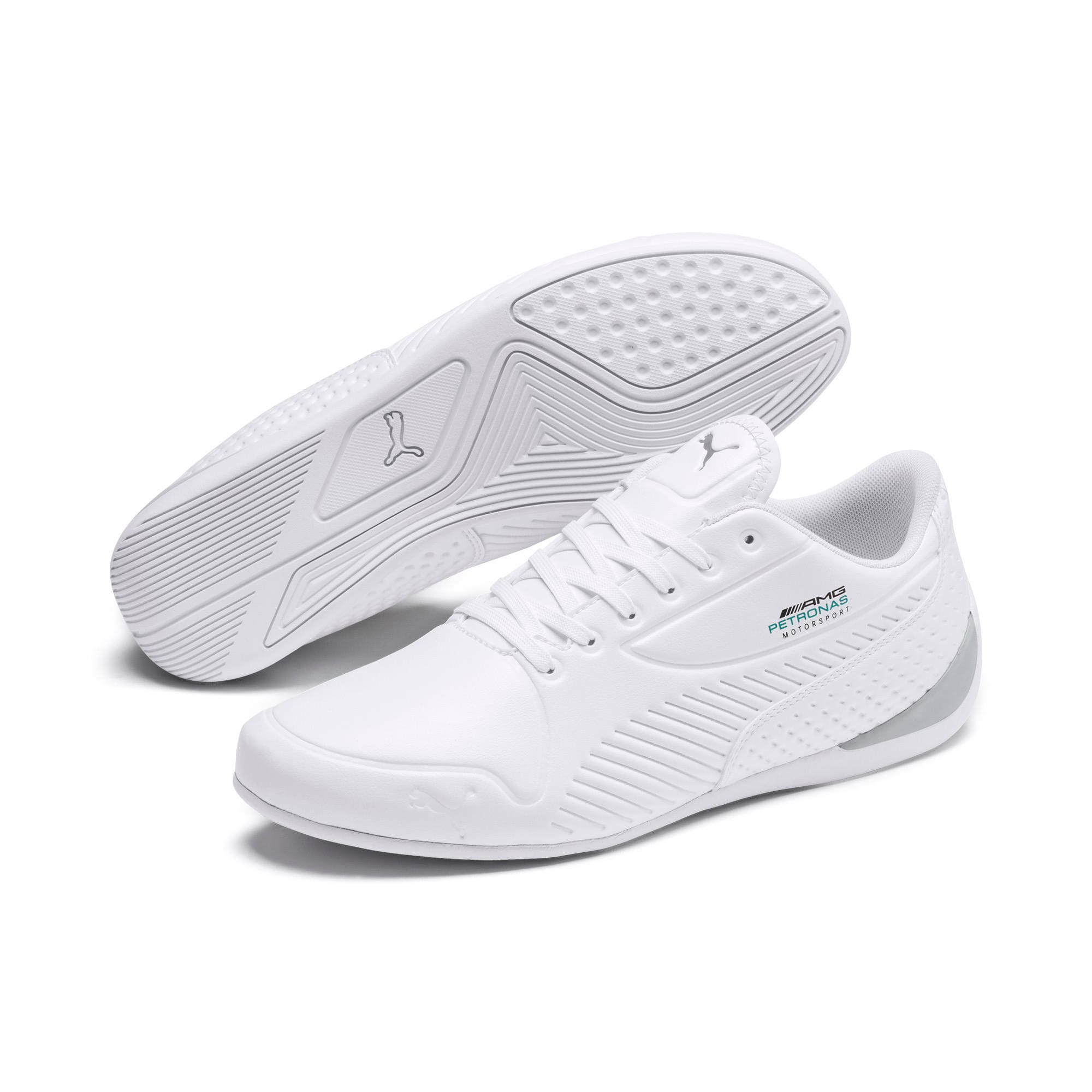 Thumbnail 3 of Mercedes AMG Petronas Drift Cat 7S Ultra Men's Shoes, Puma White-Puma White, medium