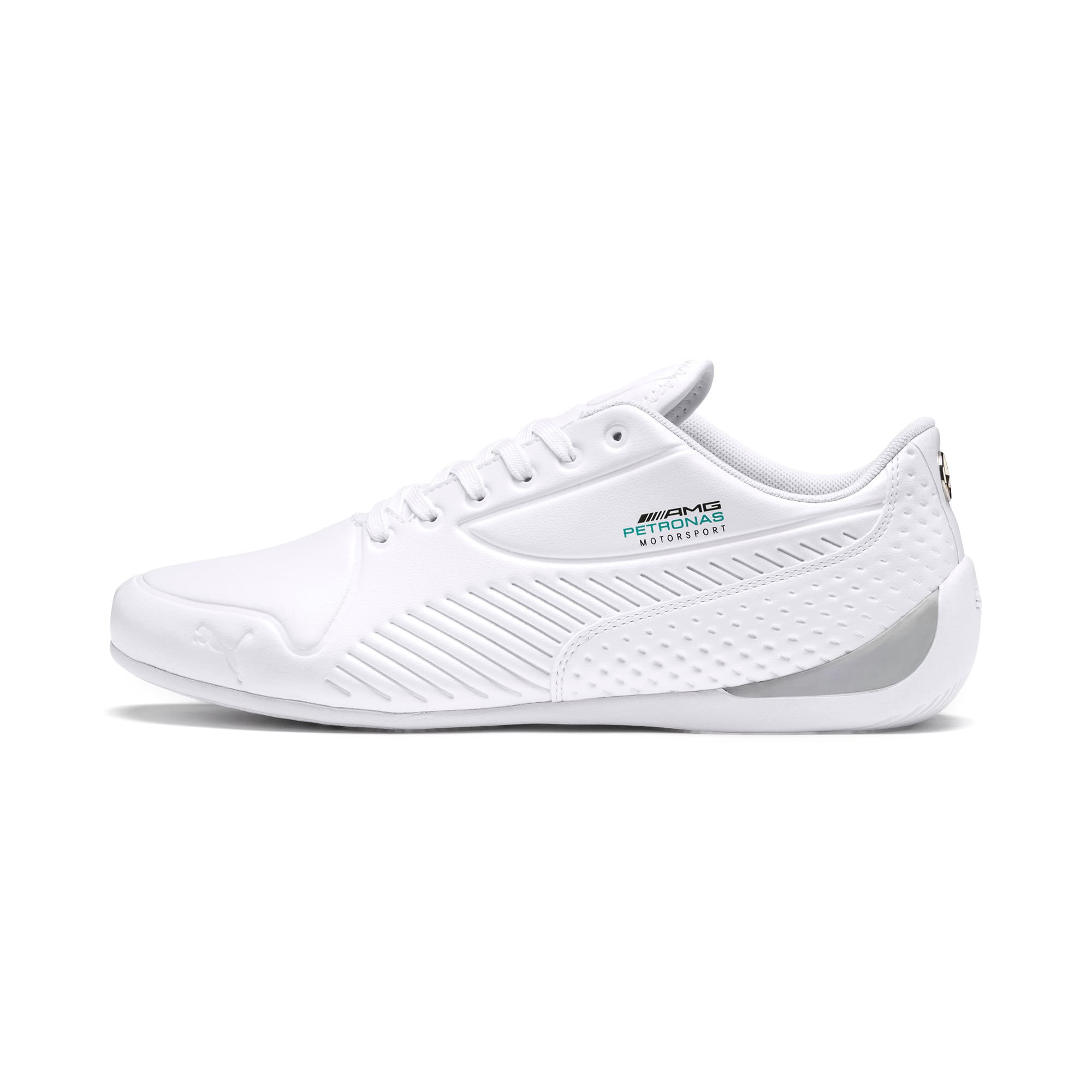 Thumbnail 1 of Mercedes AMG Petronas Drift Cat 7S Ultra Men's Shoes, Puma White-Puma White, medium