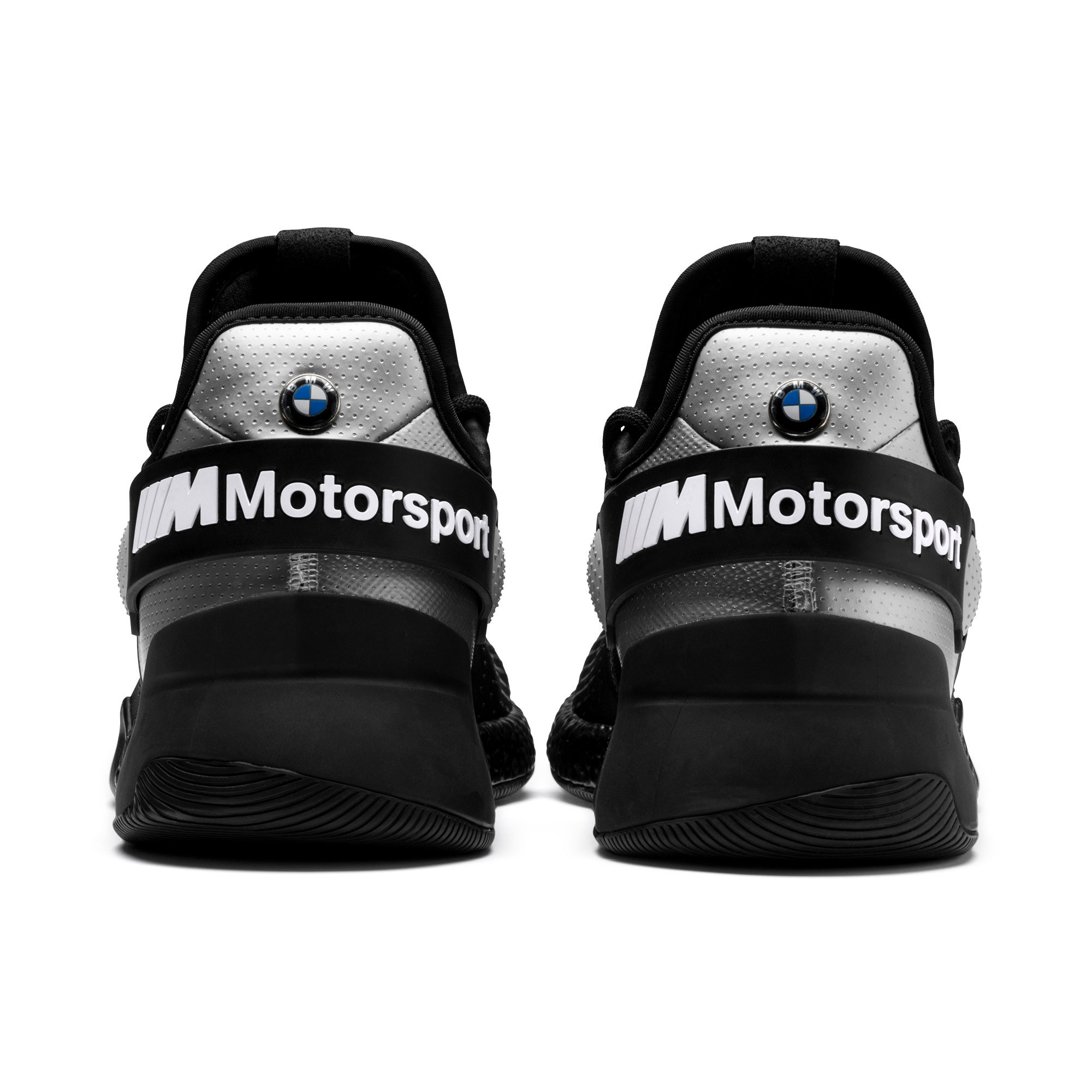 Thumbnail 4 of BMW M Motorsport HYBRID Men's Trainers, Black-Puma Silver- White, medium