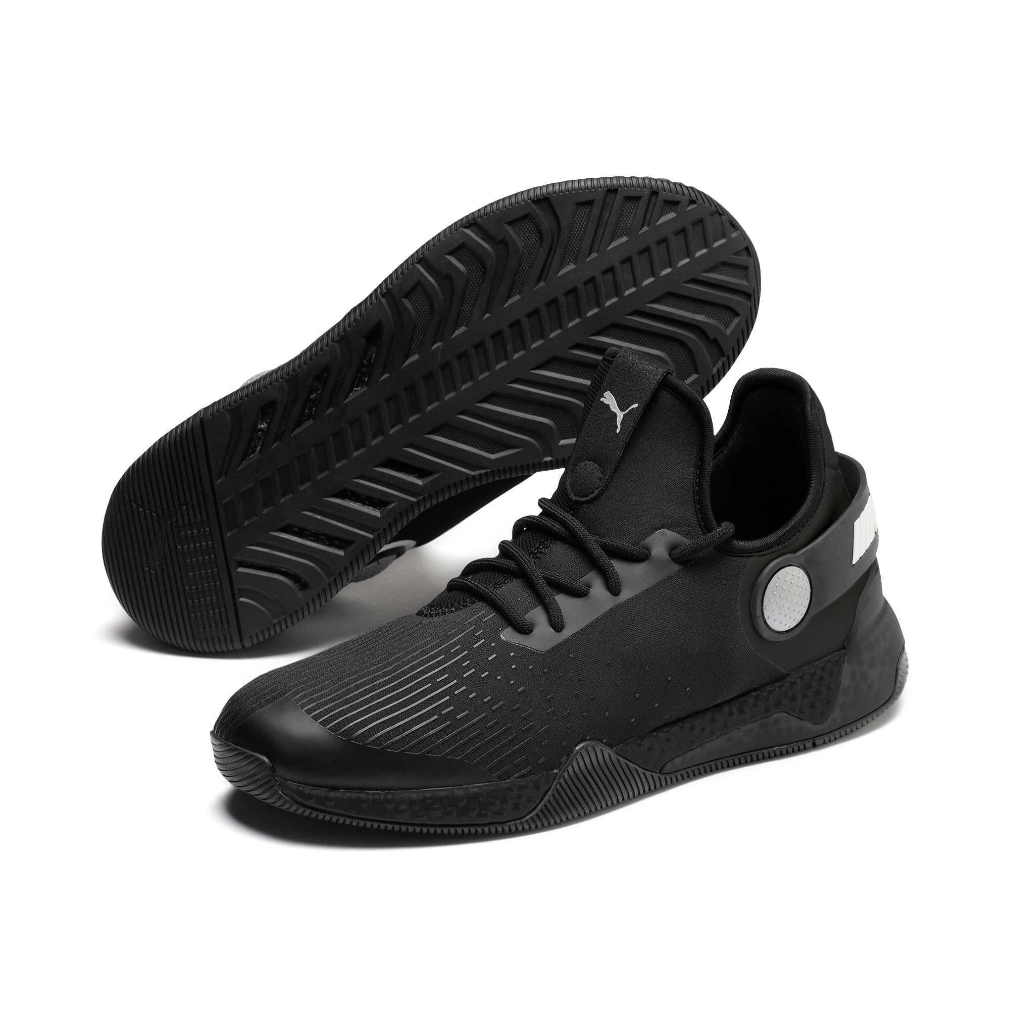 Thumbnail 3 of BMW M Motorsport HYBRID Men's Running Shoes, Black-Black-White, medium